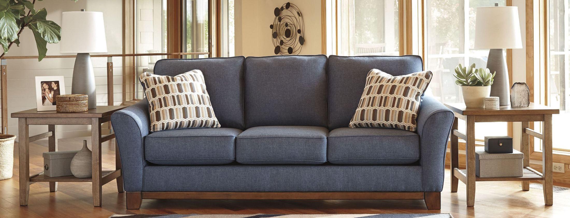 Janley Denim Sofa 4380738 Janley Denim Living Room Set