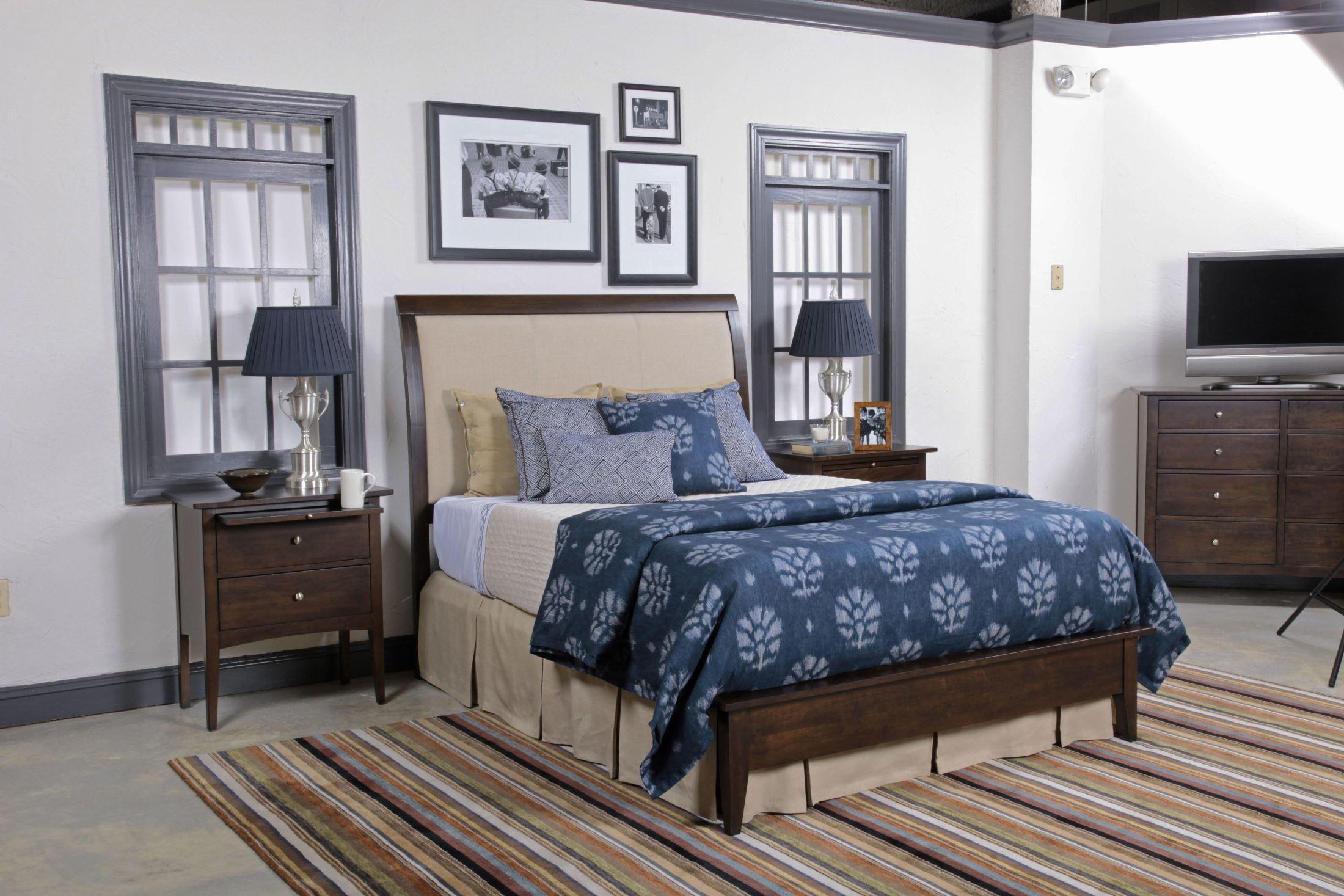 Gatherings Molasses Meridian Bedroom Set From Kincaid 44 2530p Coleman Furniture