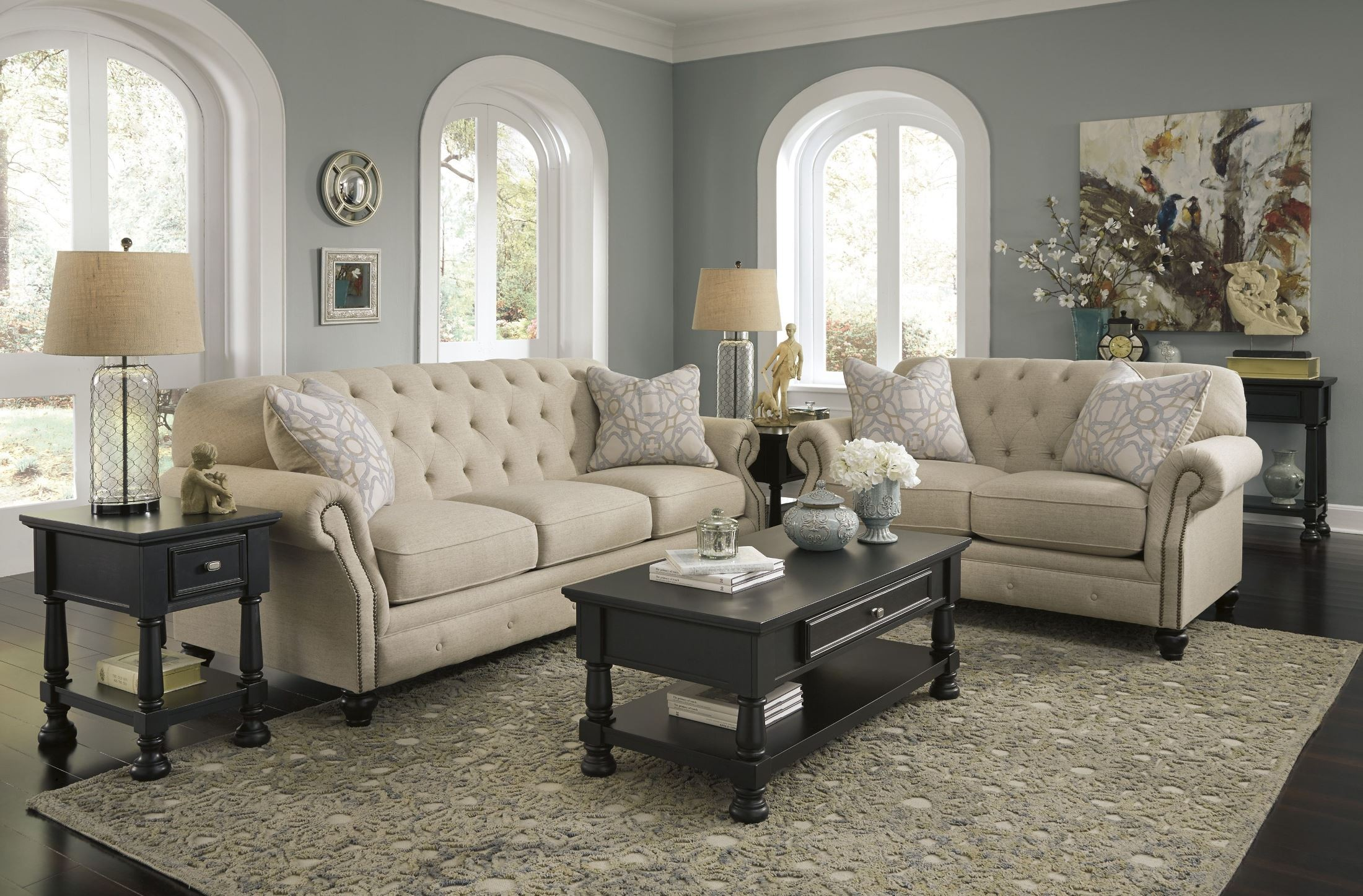 Kieran Natural Living Room Set From Ashley 4400038 Coleman Furniture
