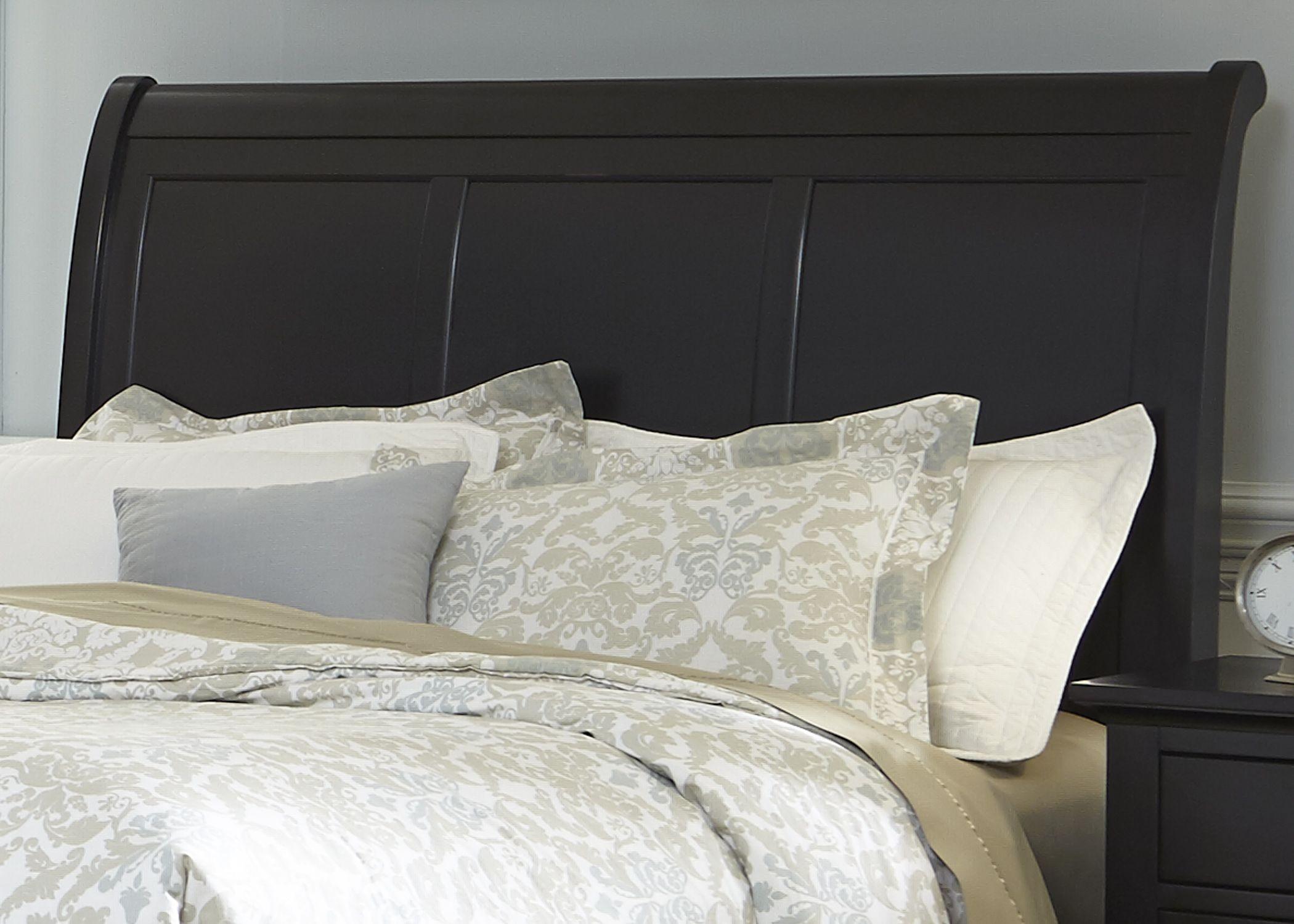 Hamilton III Black Sleigh Bedroom Set from Liberty 441 BR QSL