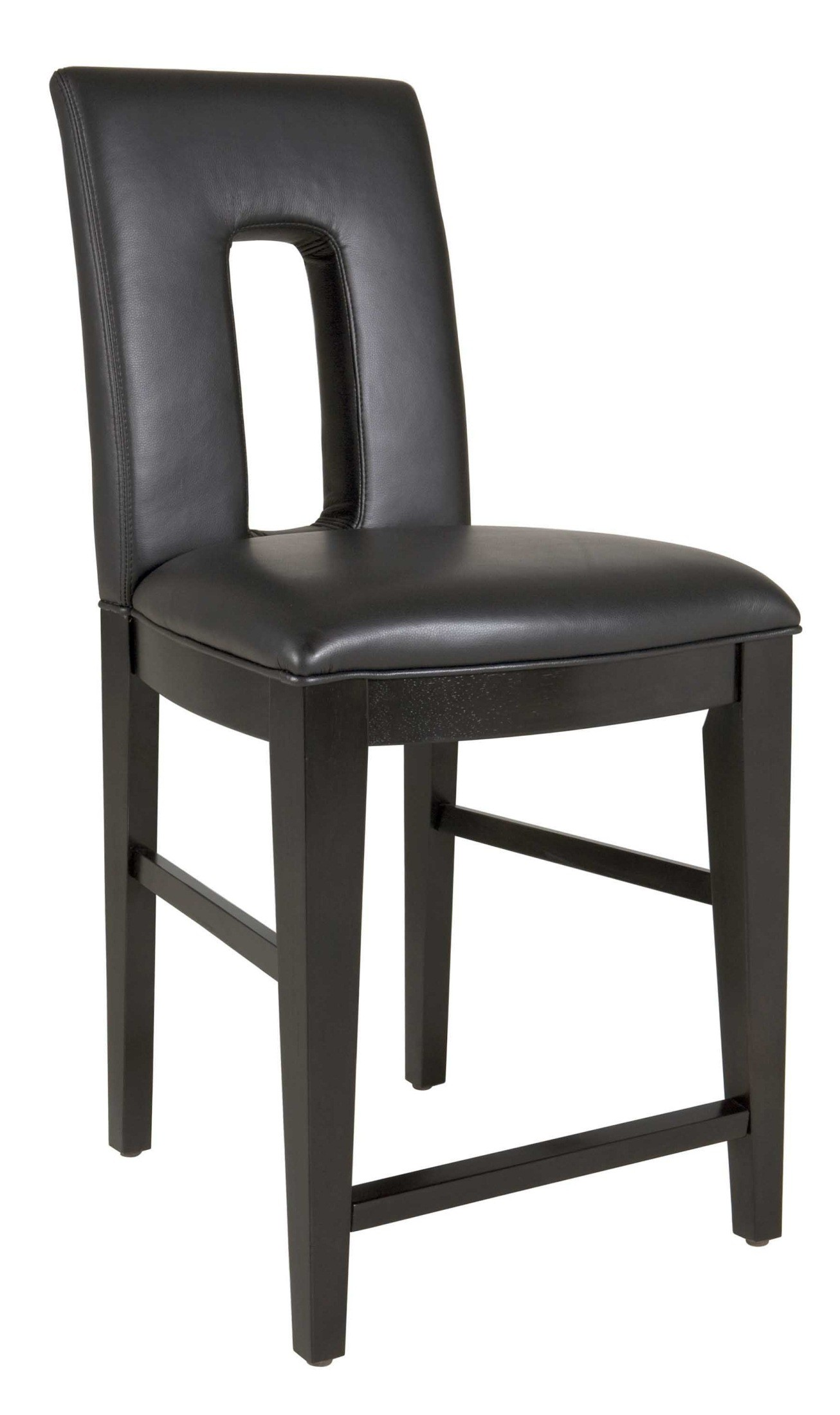 Perspectives Leather Upholstered Counter Stool 4444 592