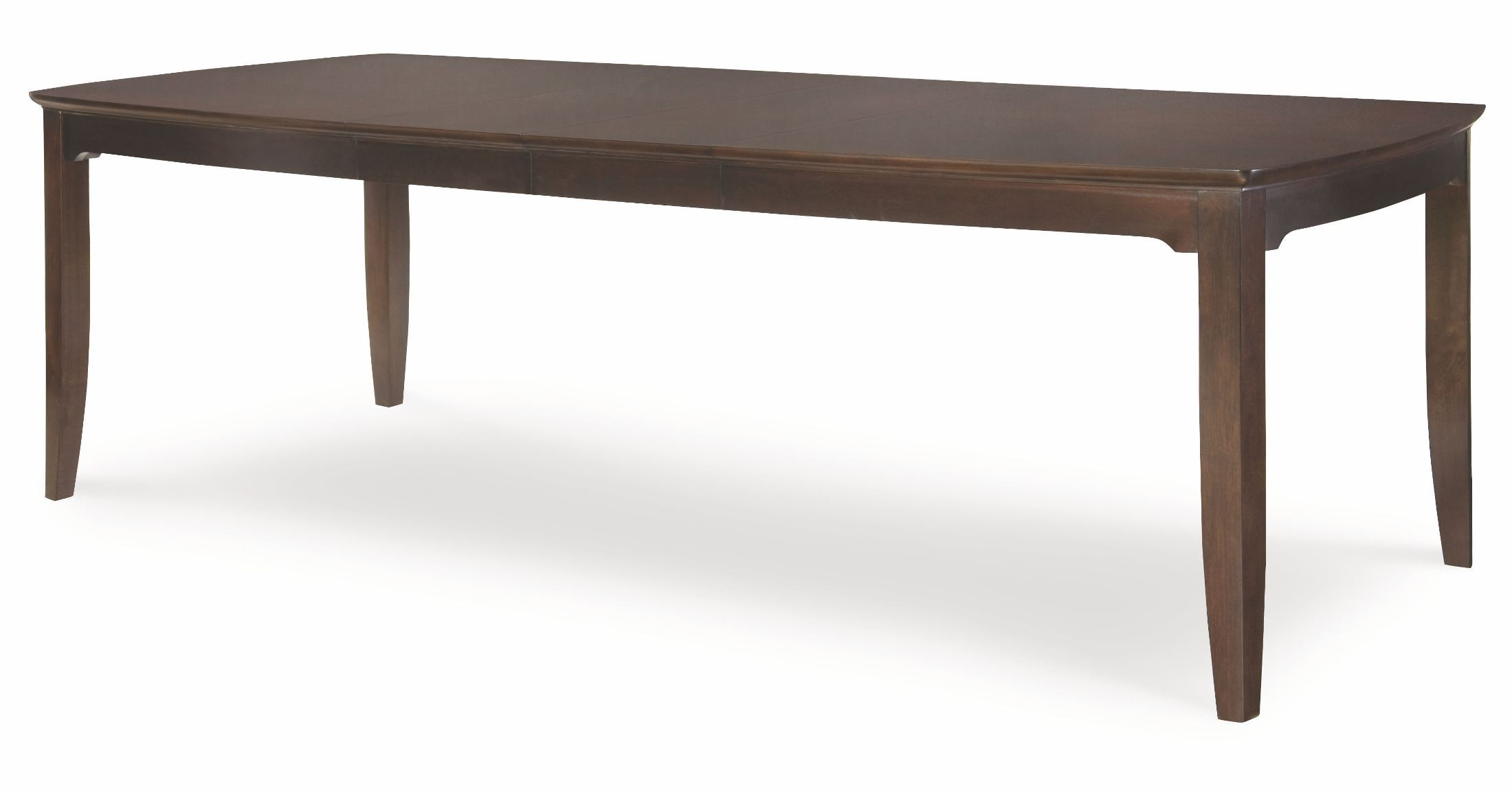 Sophia rectangular extendable leg dining table from legacy for One leg dining table