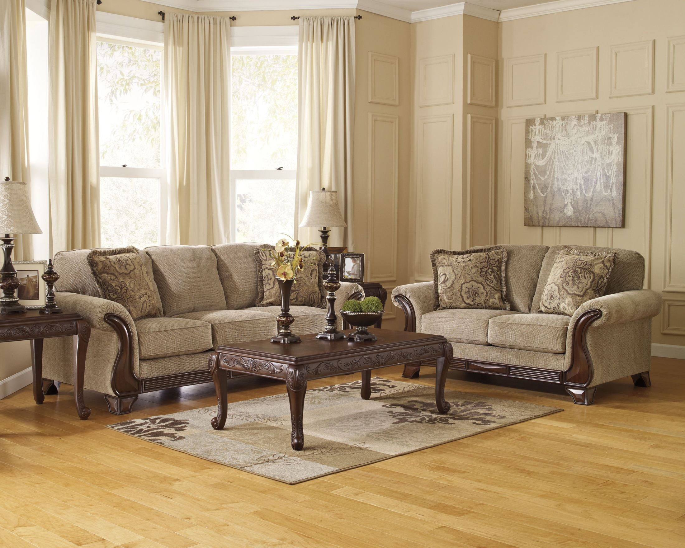 Lanett Living Room Set From Ashley 4490038 Coleman Furniture