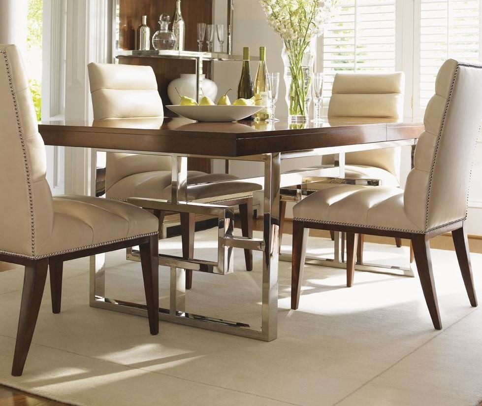 Mirage Monroe Extendable Dining Room Set 01 0458 876c Lexington