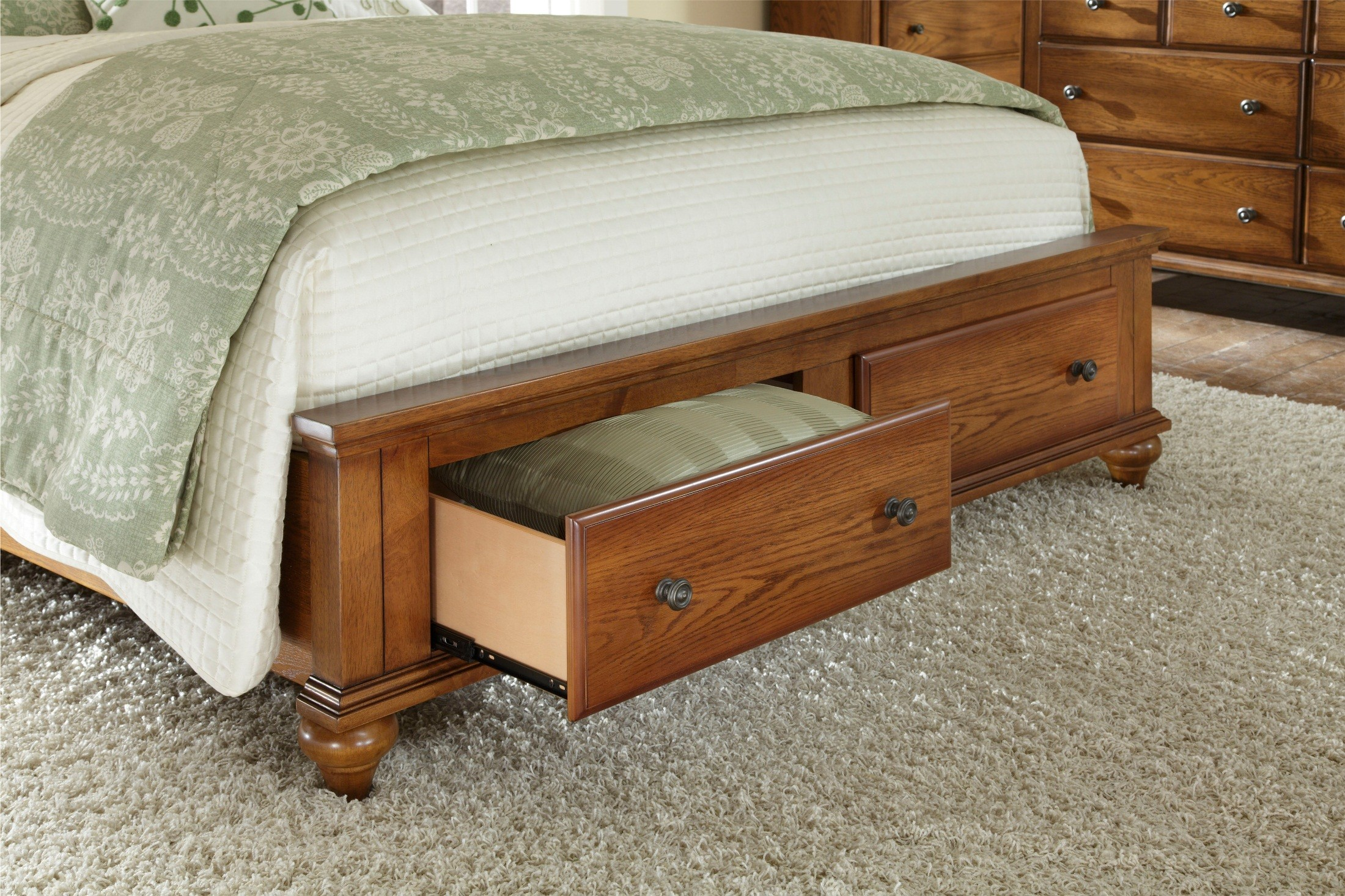 most recent oak sleigh beds