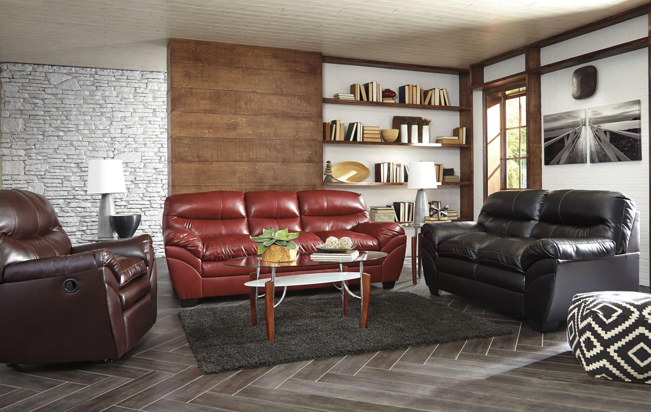 Tassler Durablend Mahogany Living Room Set