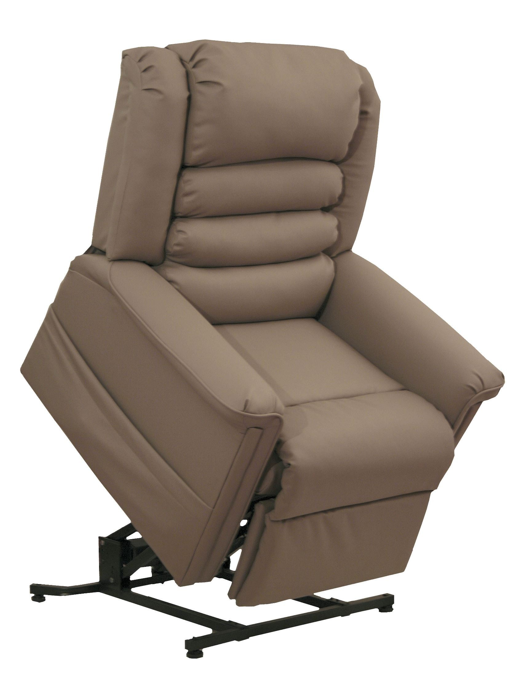 Invincible cocoa power lift recliner from catnapper for Catnapper cloud nine chaise recliner