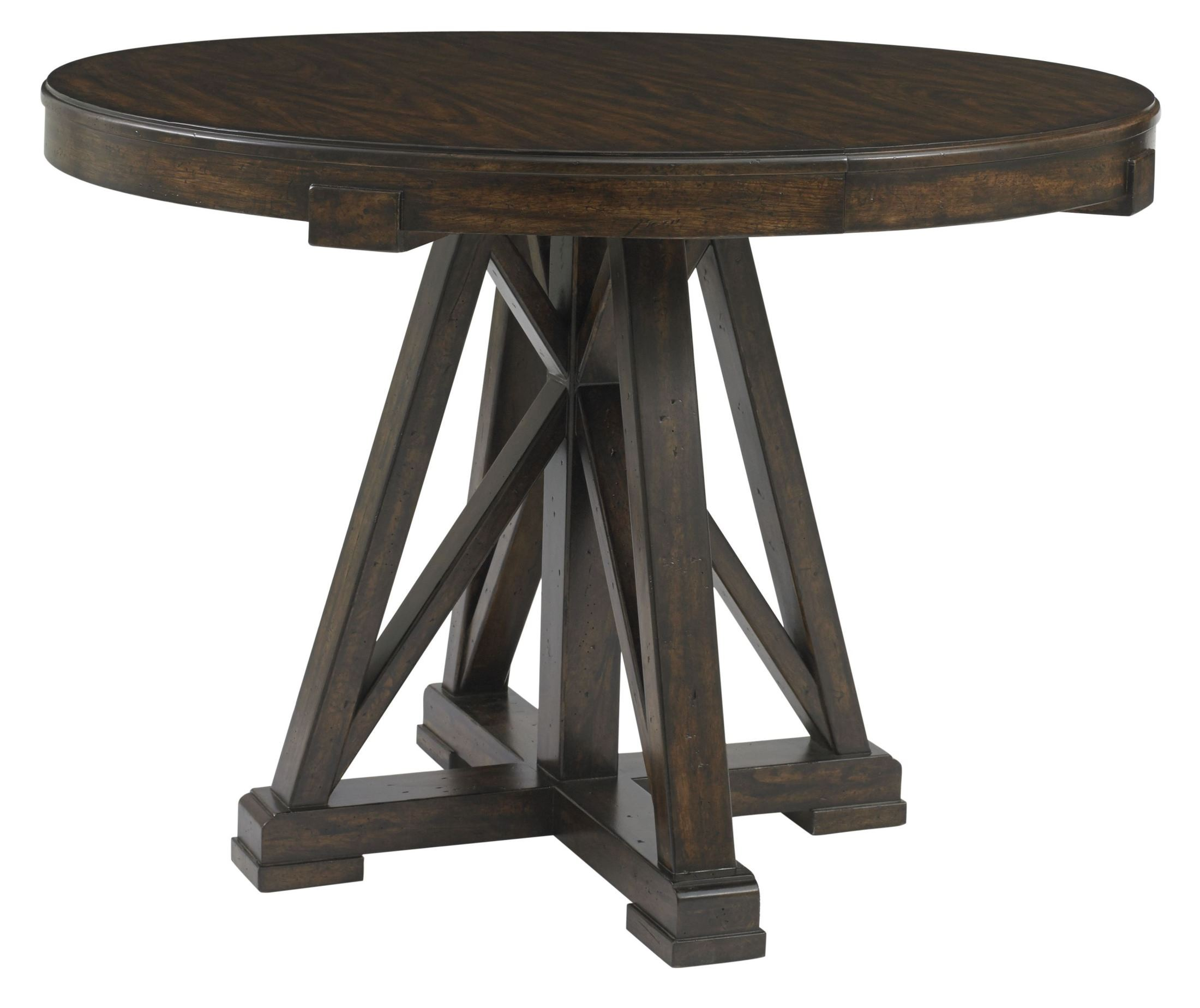 Newel Date Round Pedestal Extendable Dining Table 484 11  : 4841130silo3q2 from colemanfurniture.com size 2200 x 1848 jpeg 270kB