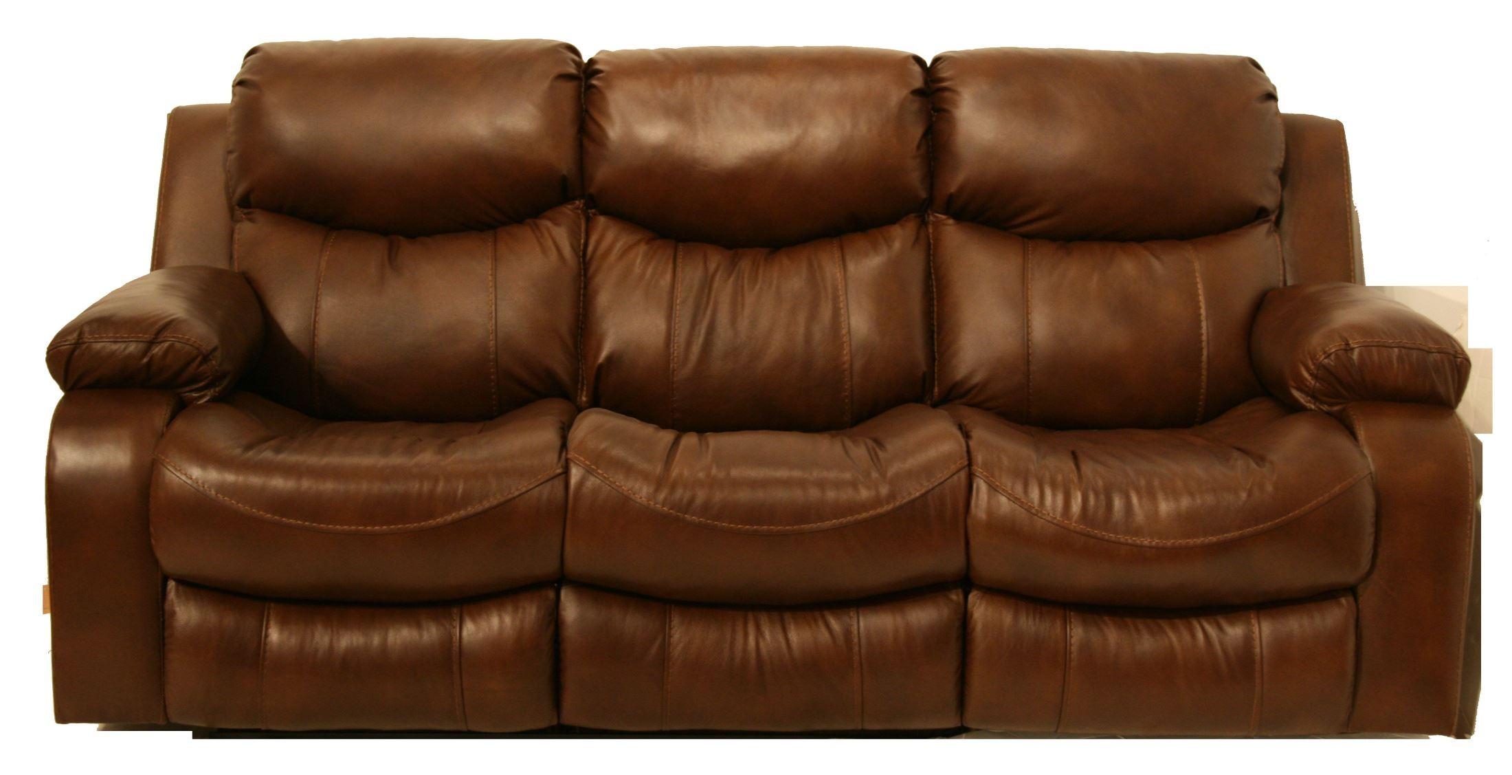 Dallas Tobacco Reclining Sofa From Catnapper