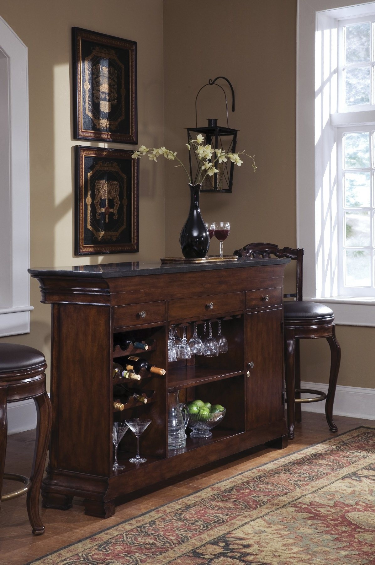 Toscano Vialetto Bar From Pulaski 657500 Coleman Furniture
