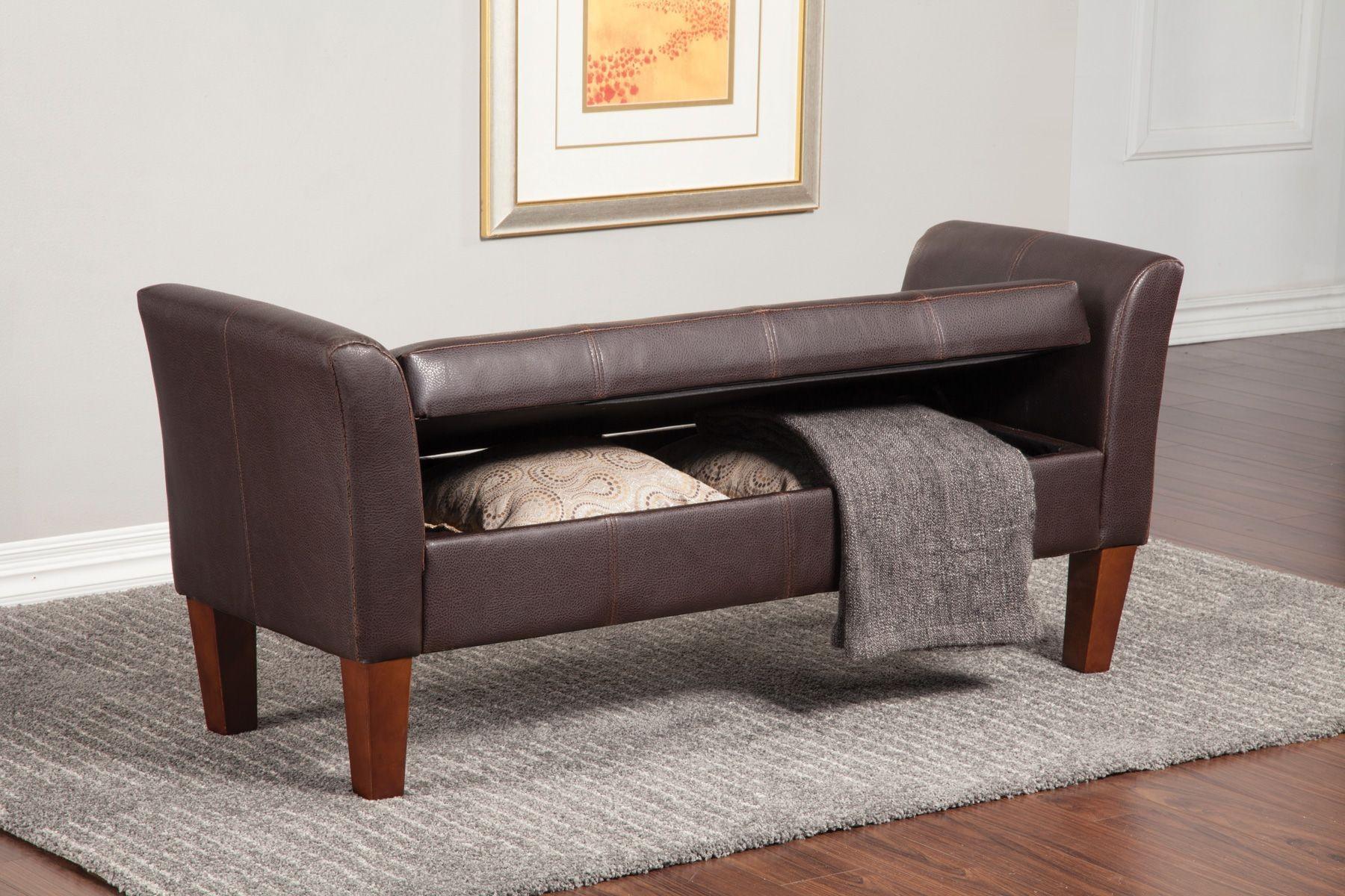 Grey Upholstered Bench 500070 Grey Upholstered Bench From Coaster 500070