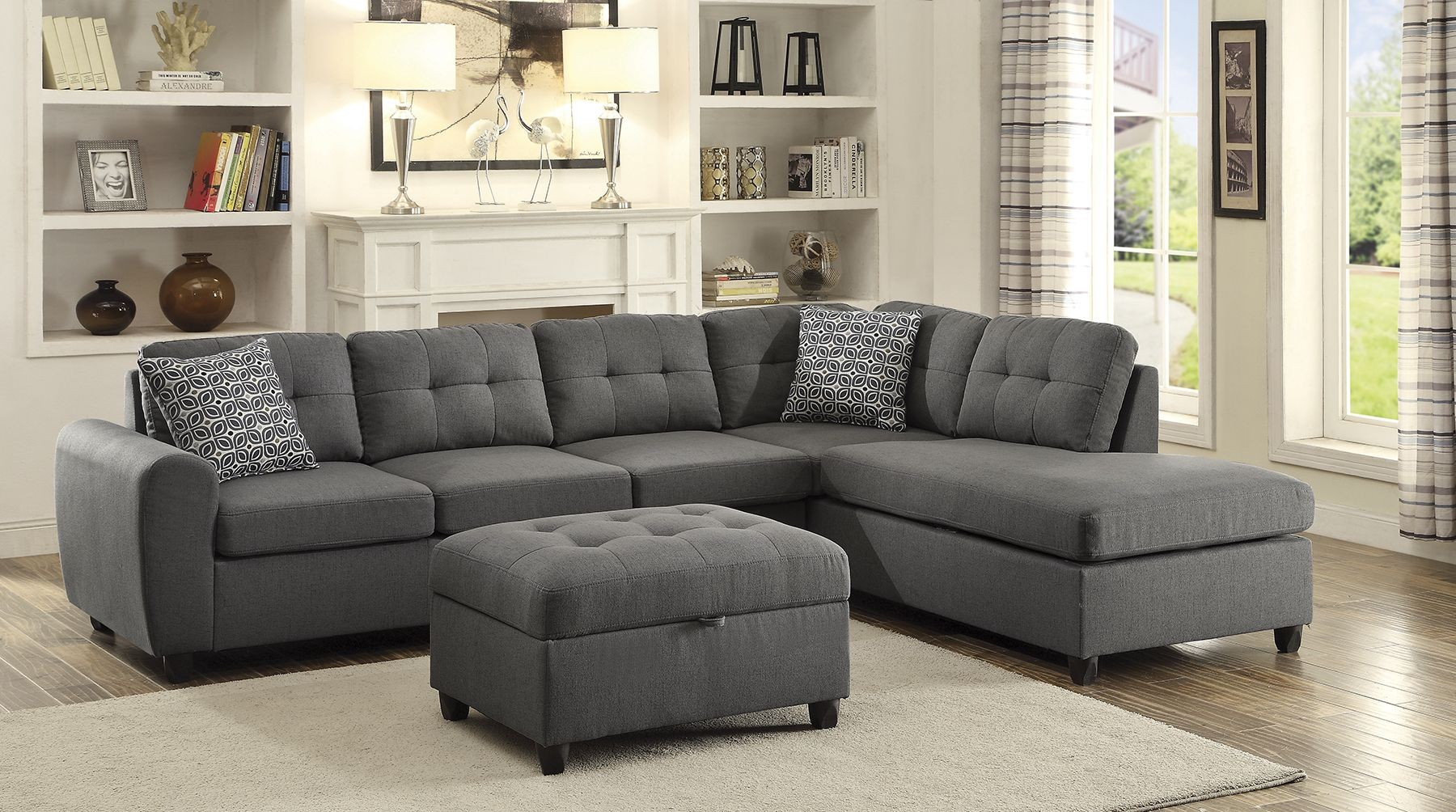 Stonenesse Sectional 500413 Coaster Furniture