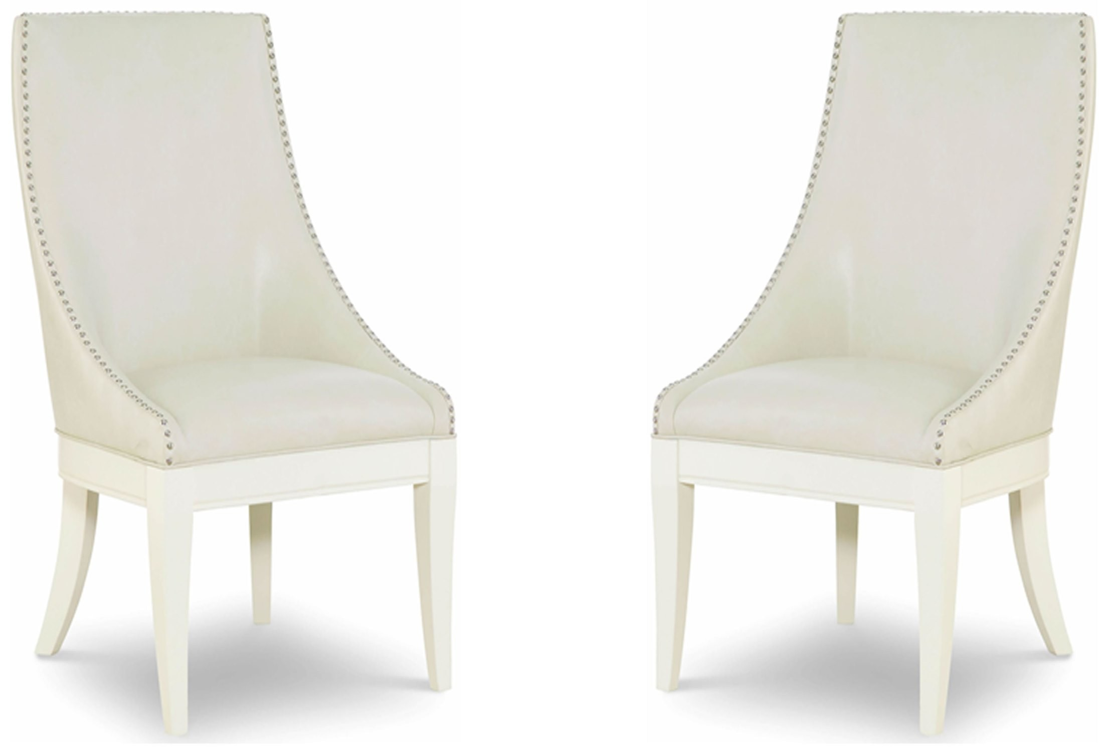 Tower Suite Pearl Upholstered Host Chair Set Of 2 From