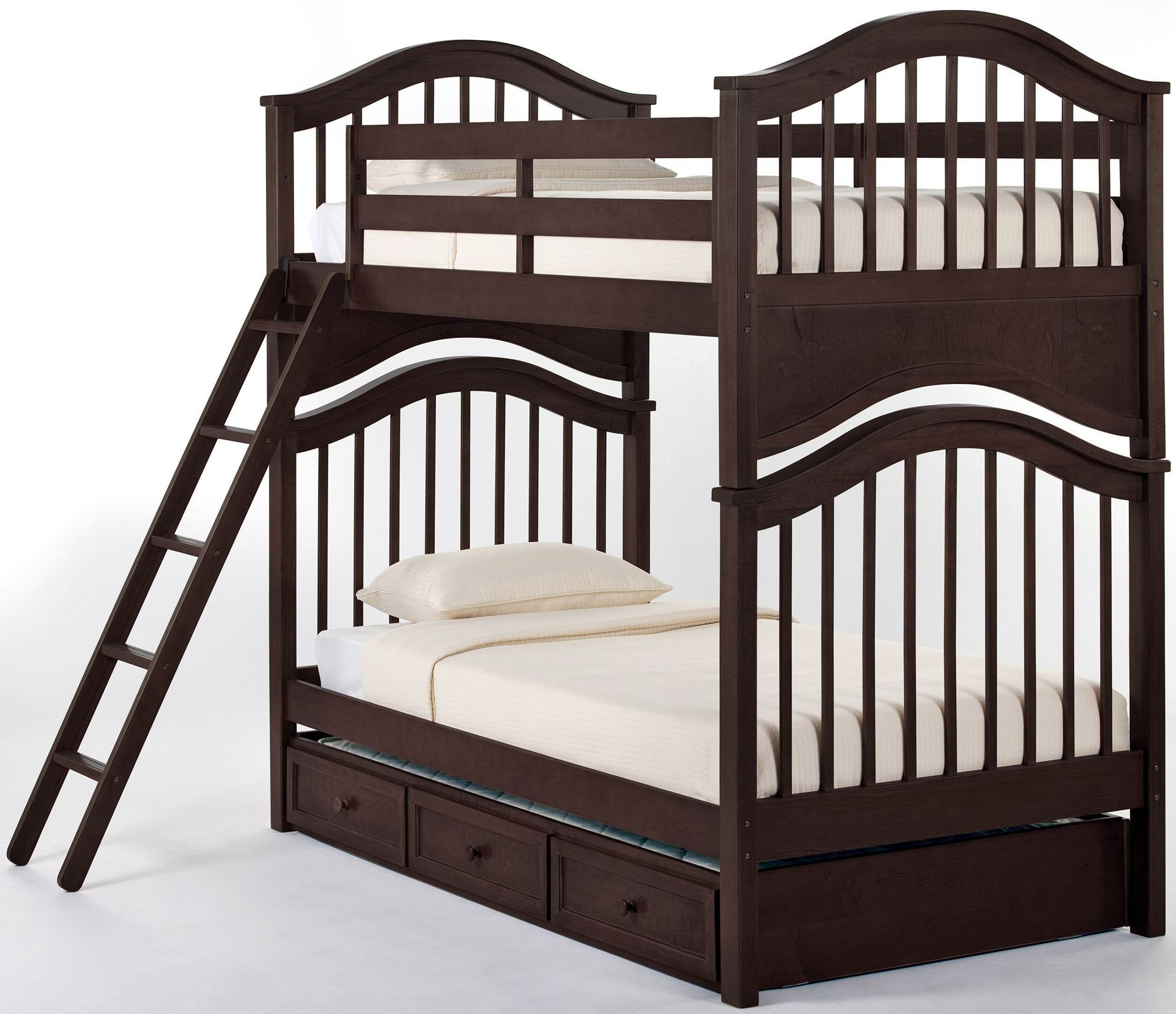 school house chocolate jordan twin over twin bunk bed with. Black Bedroom Furniture Sets. Home Design Ideas