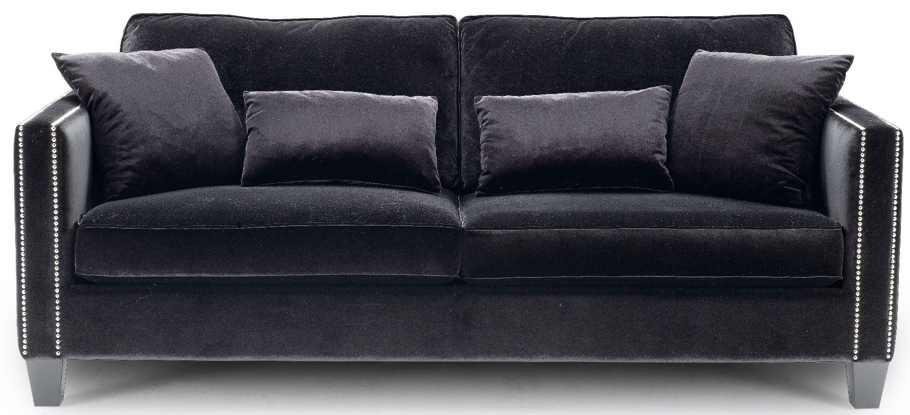 Cathedral Black Sofa 50332 3 Sunpan