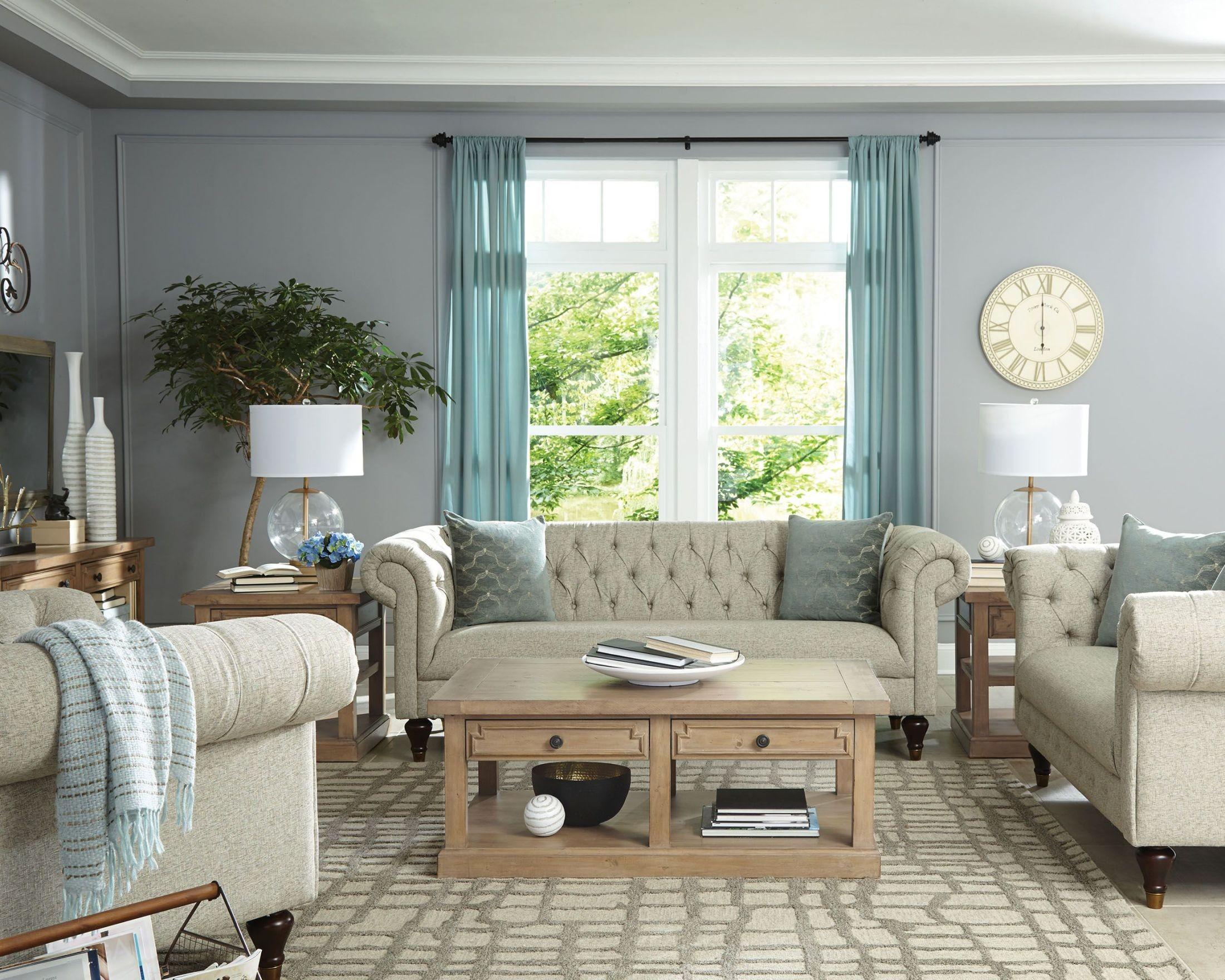 Modern vintage beige living room set 505551 coaster furniture