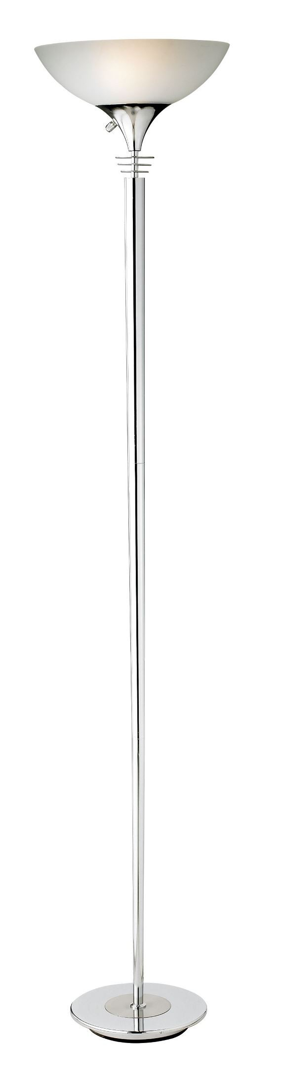Metropolis chrome floor lamp from adesso 5120 22 for Adesso metropolis floor lamp silver