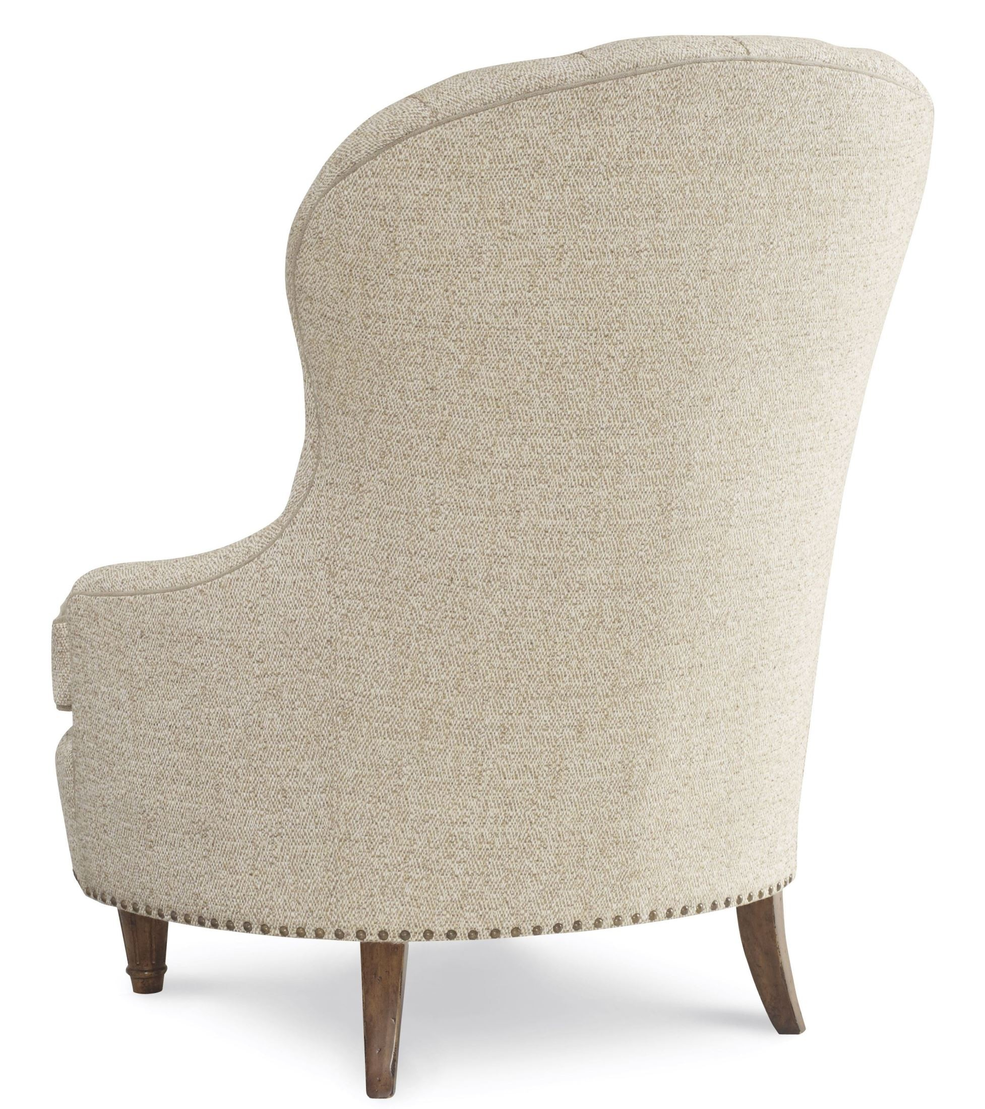 Collection one upholstered tufted accent chair from art Tufted accent chair