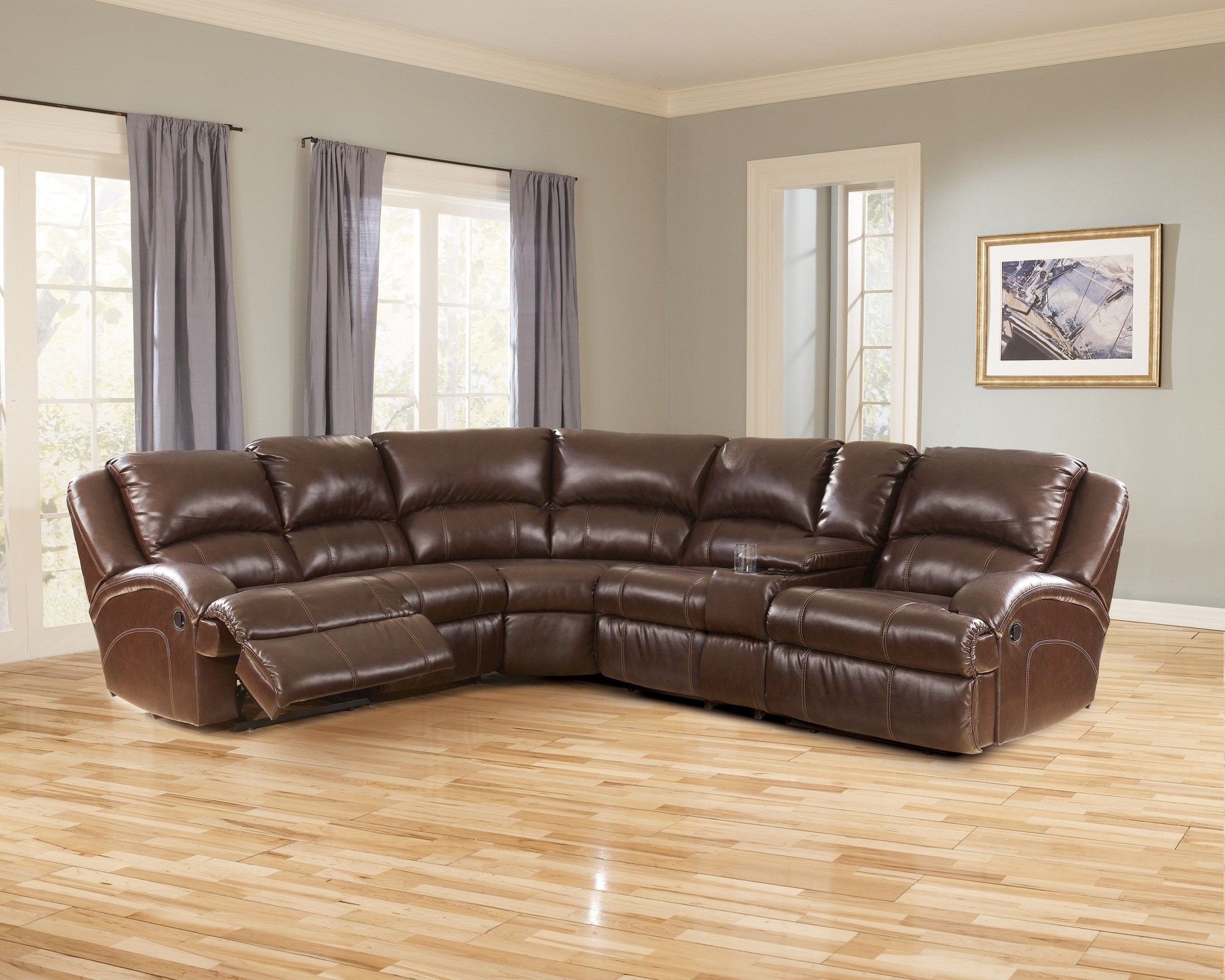 DuraBlend Harness Sectional 51801 Ashley Furniture