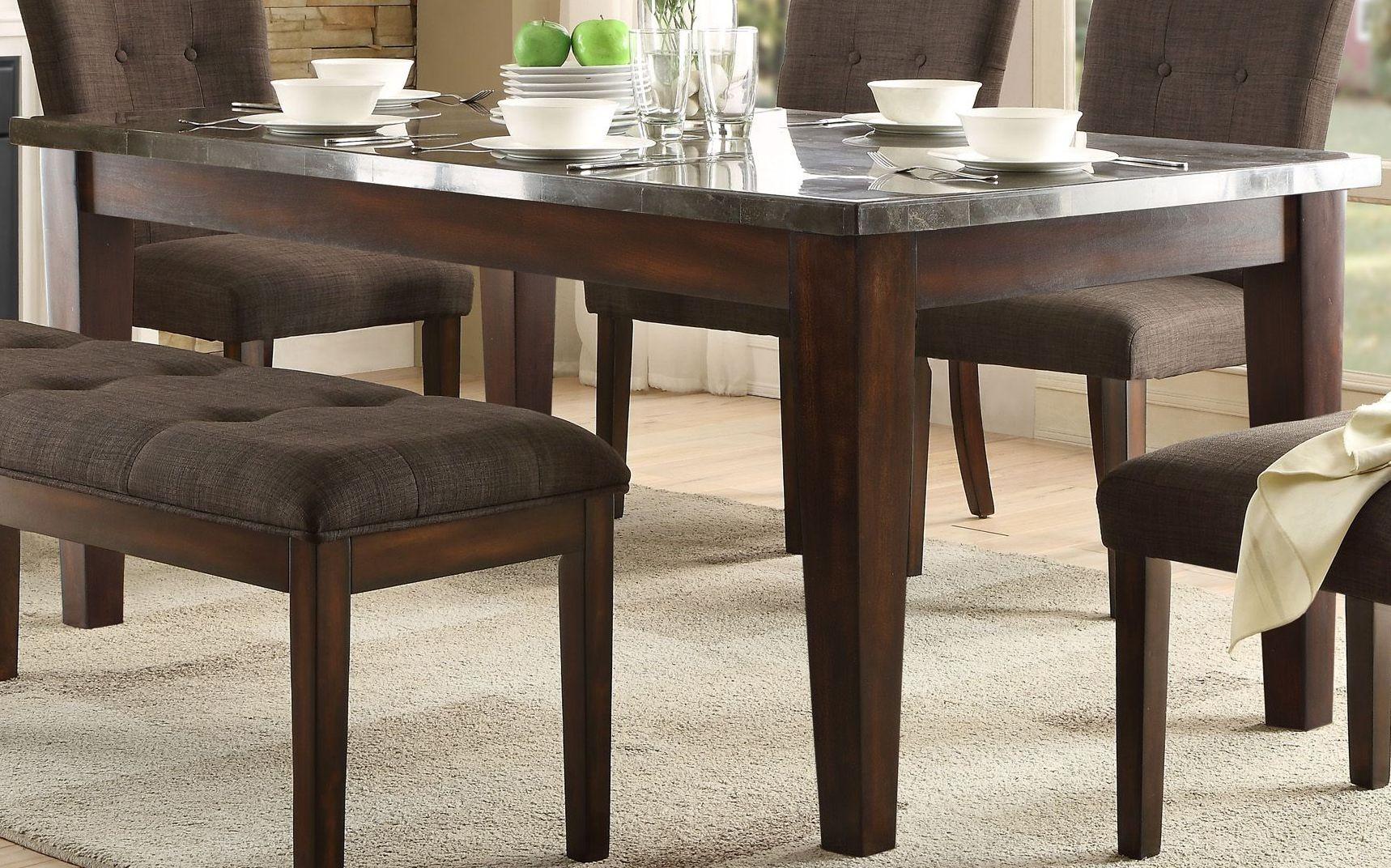 dorritt gray dining room set 5281 64 homelegance