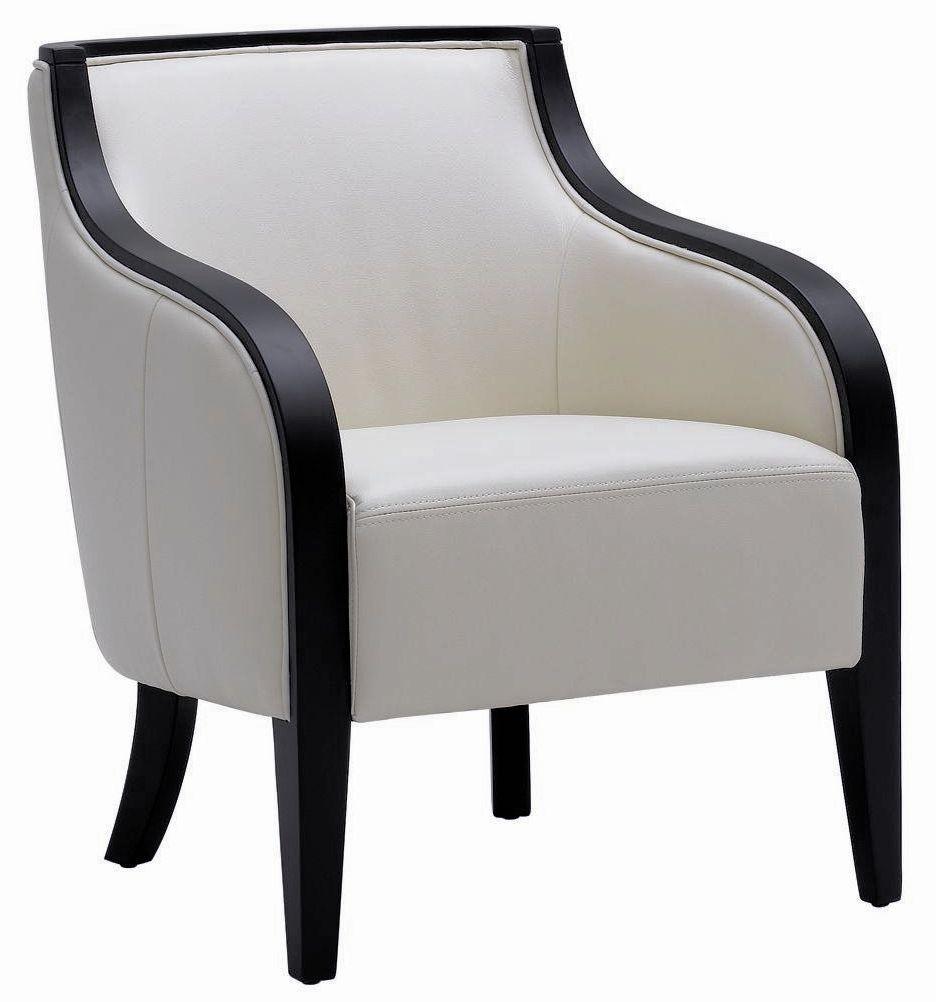 Newport cream arm chair 52843 sunpan for Cream armchair