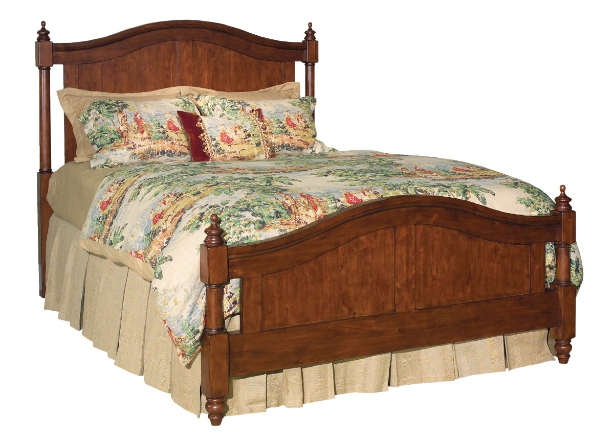 royale panel bedroom set from kincaid 53 130p coleman furniture