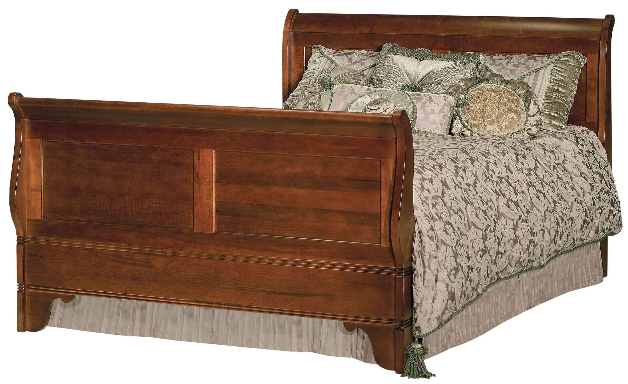 Chateau royale queen sleigh bed from kincaid 53 150p for Chateau beds