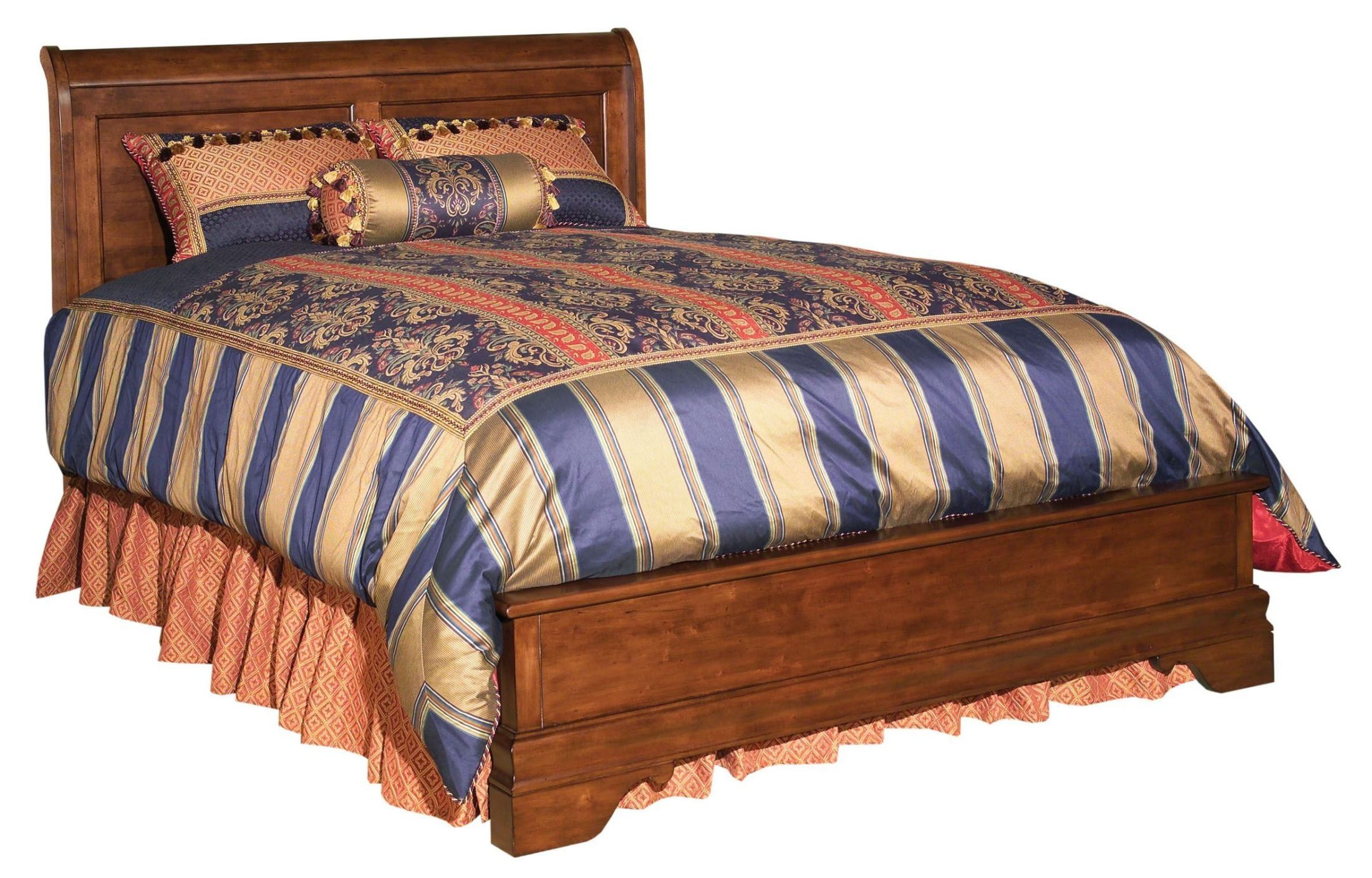 Chateau royale queen low profile bed from kincaid 53 155p for Chateau beds