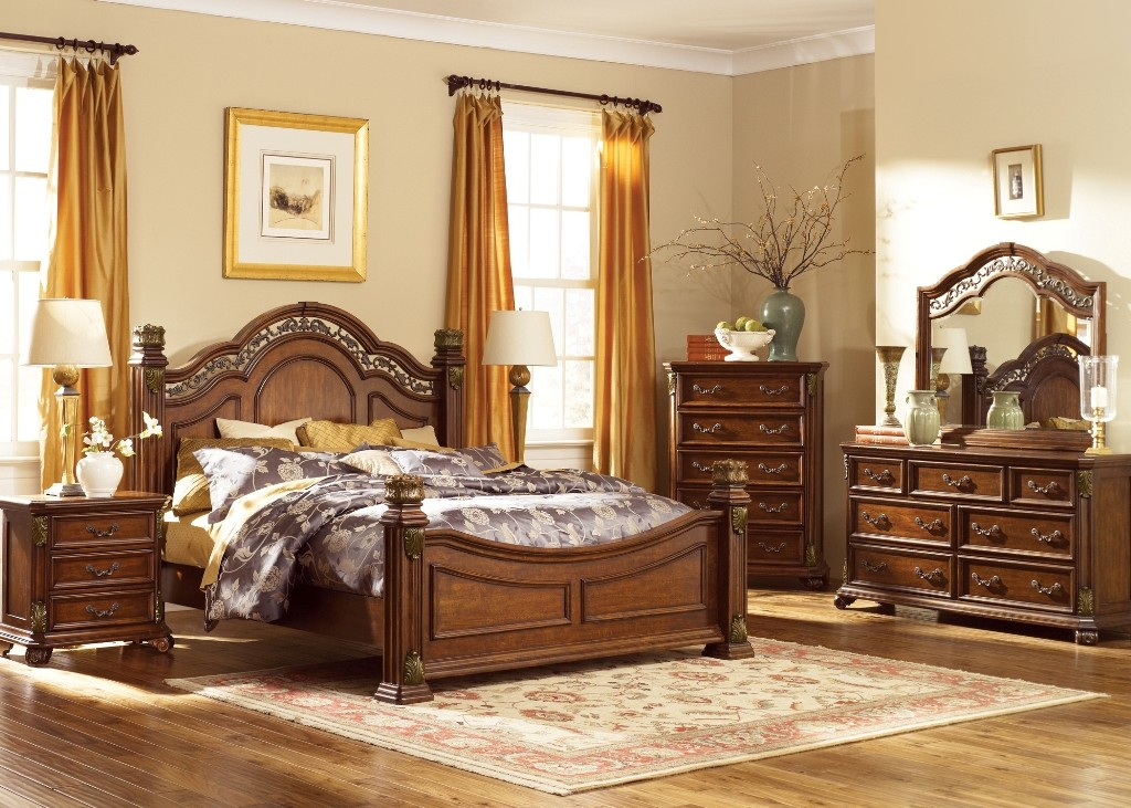 Messina Estates King Poster Bed From Liberty 737 Br Kps