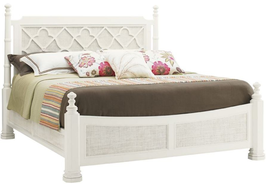 Ivory Key Southampton Cal King Poster Bed From Tommy Bahama 01 0543 175c Coleman Furniture