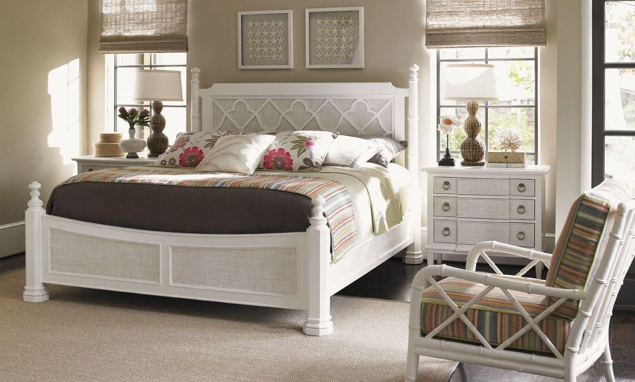 ivory key southampton poster bedroom set from tommy bahama