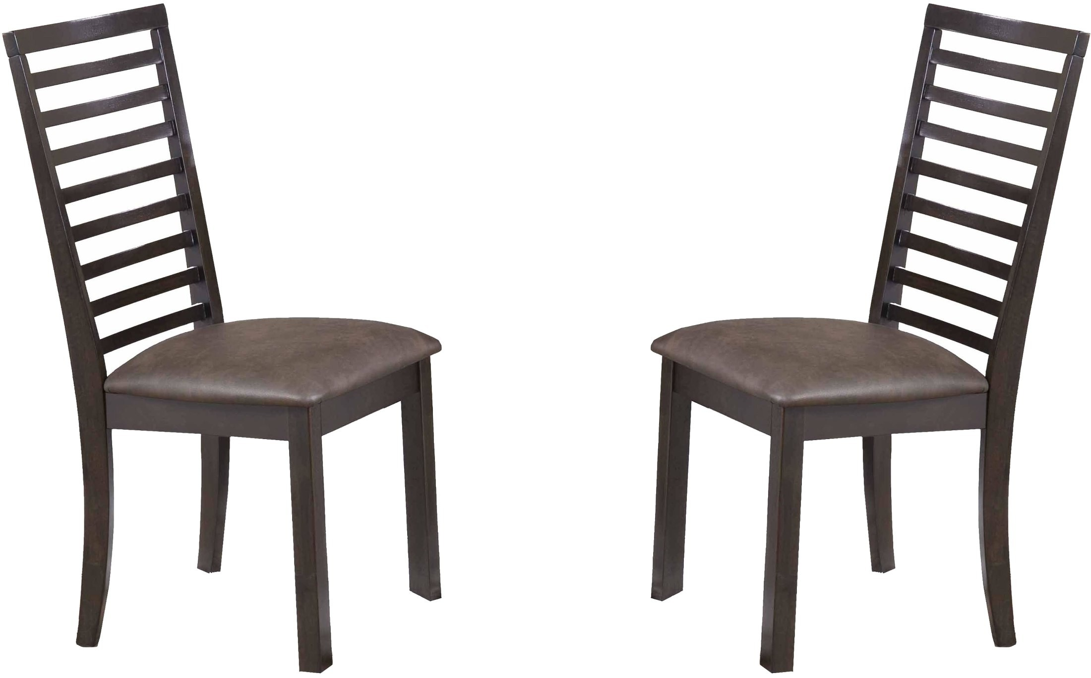 manhattan jacobean walnut dining chair set of 2 5442 00 s