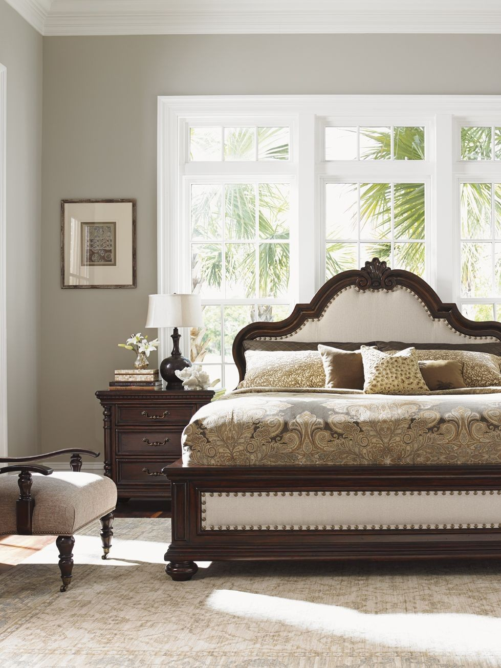kilimanjaro barcelona panel bedroom set from tommy bahama 01 0552