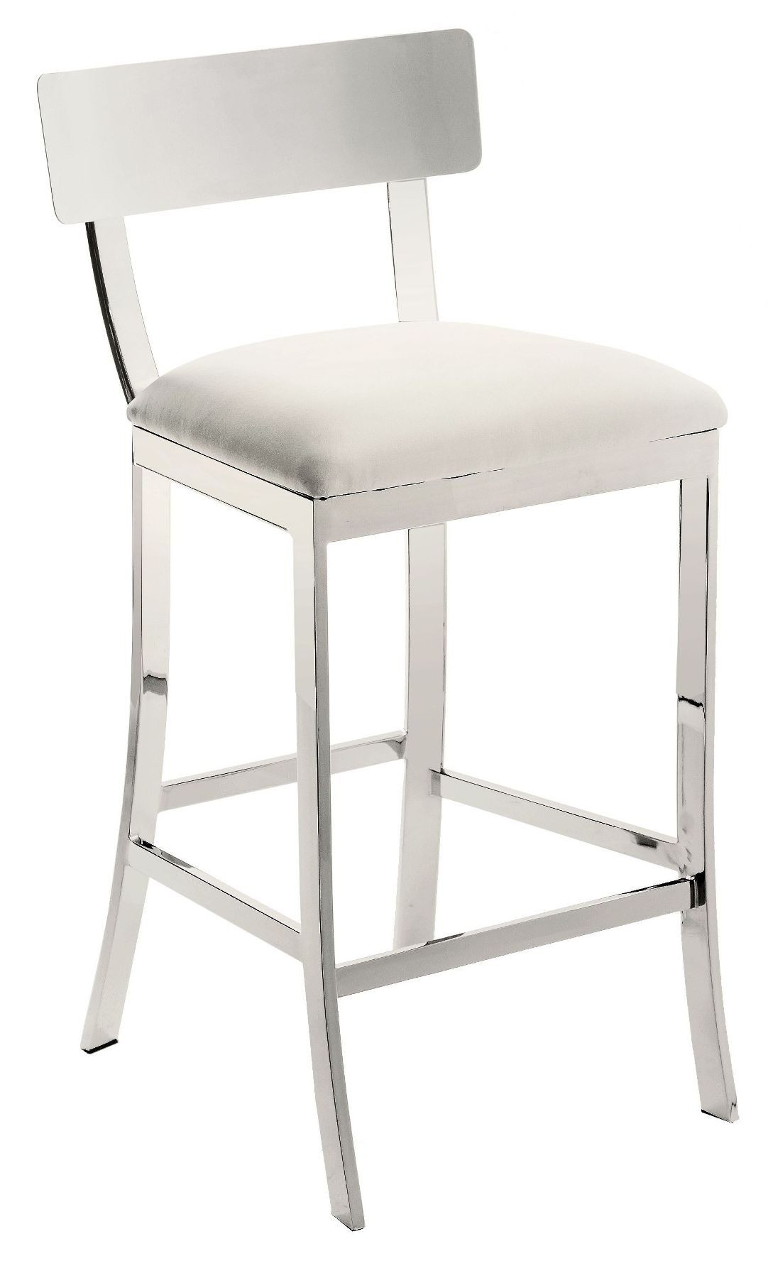 Maiden White Counter Stool From Sunpan 56336 Coleman