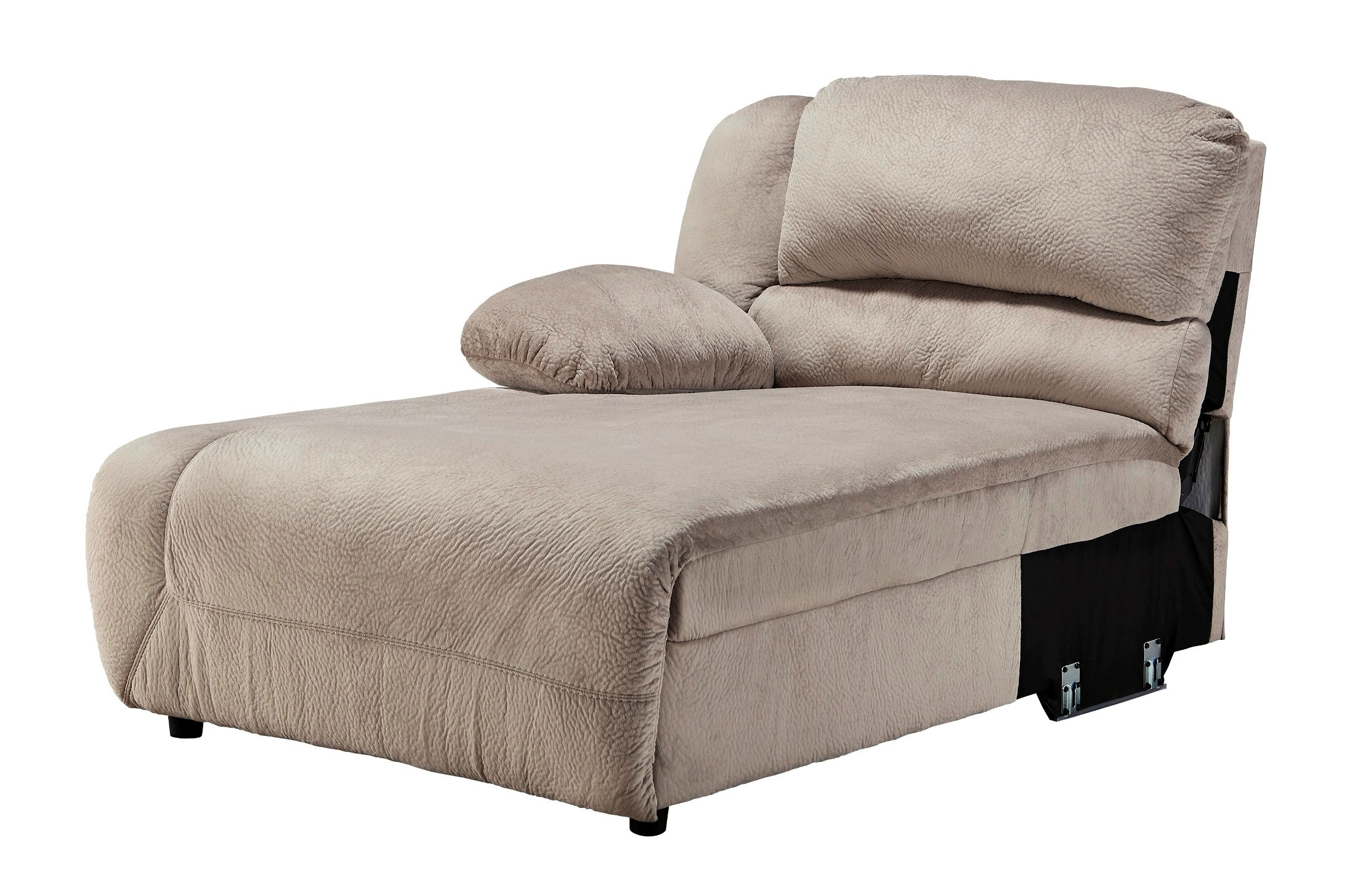 Toletta granite laf reclining sectional from ashley for 2 arm pressback chaise