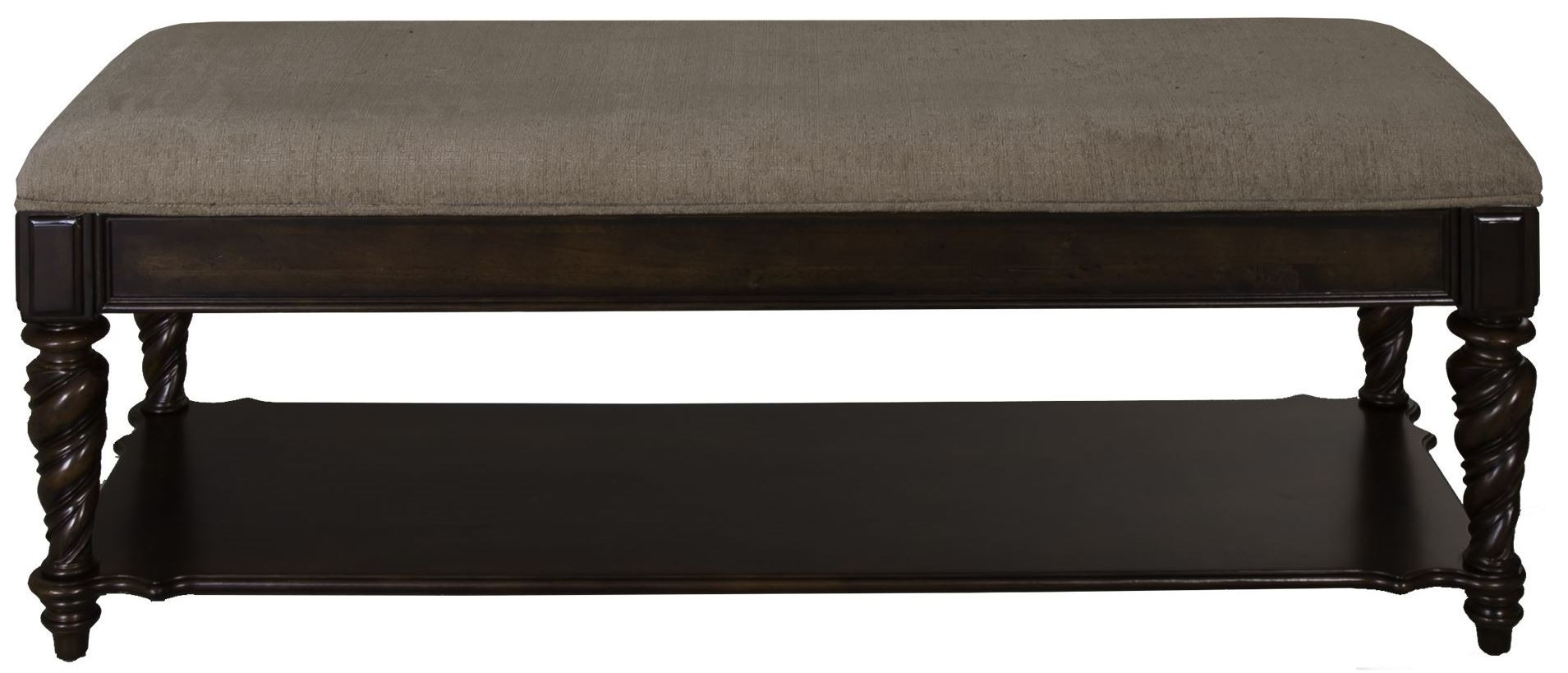 Arbor Place Brownstone Bed Bench 575 Br47 Liberty