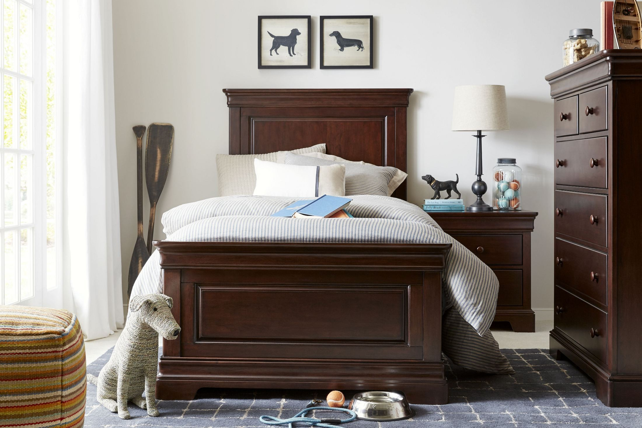 Teaberry Lane Midnight Cherry Youth Panel Bedroom Set 575 13 35 Stone And Leigh