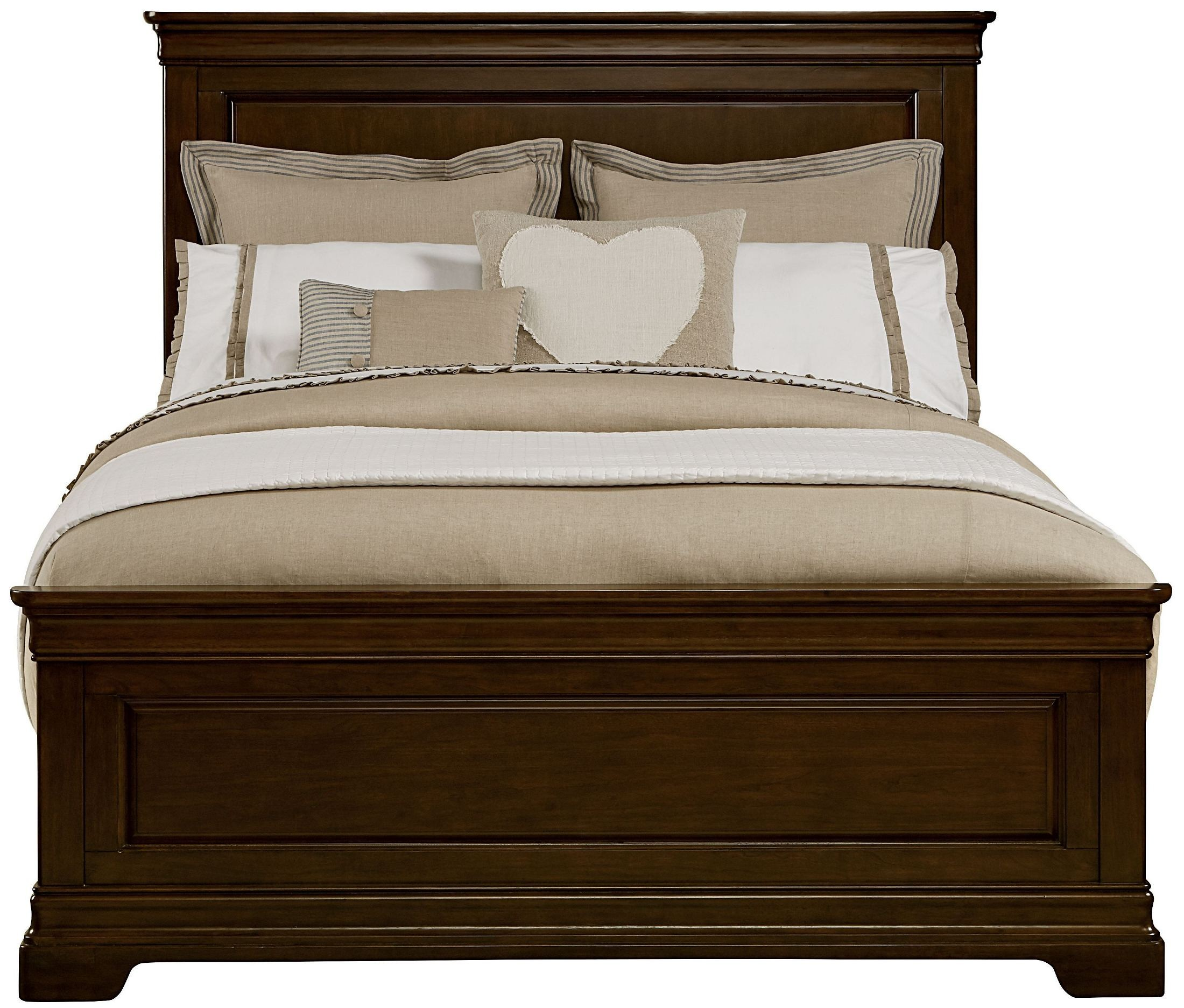 Teaberry Lane Midnight Cherry Panel Bedroom Set 575 13 45 Stone And Leigh