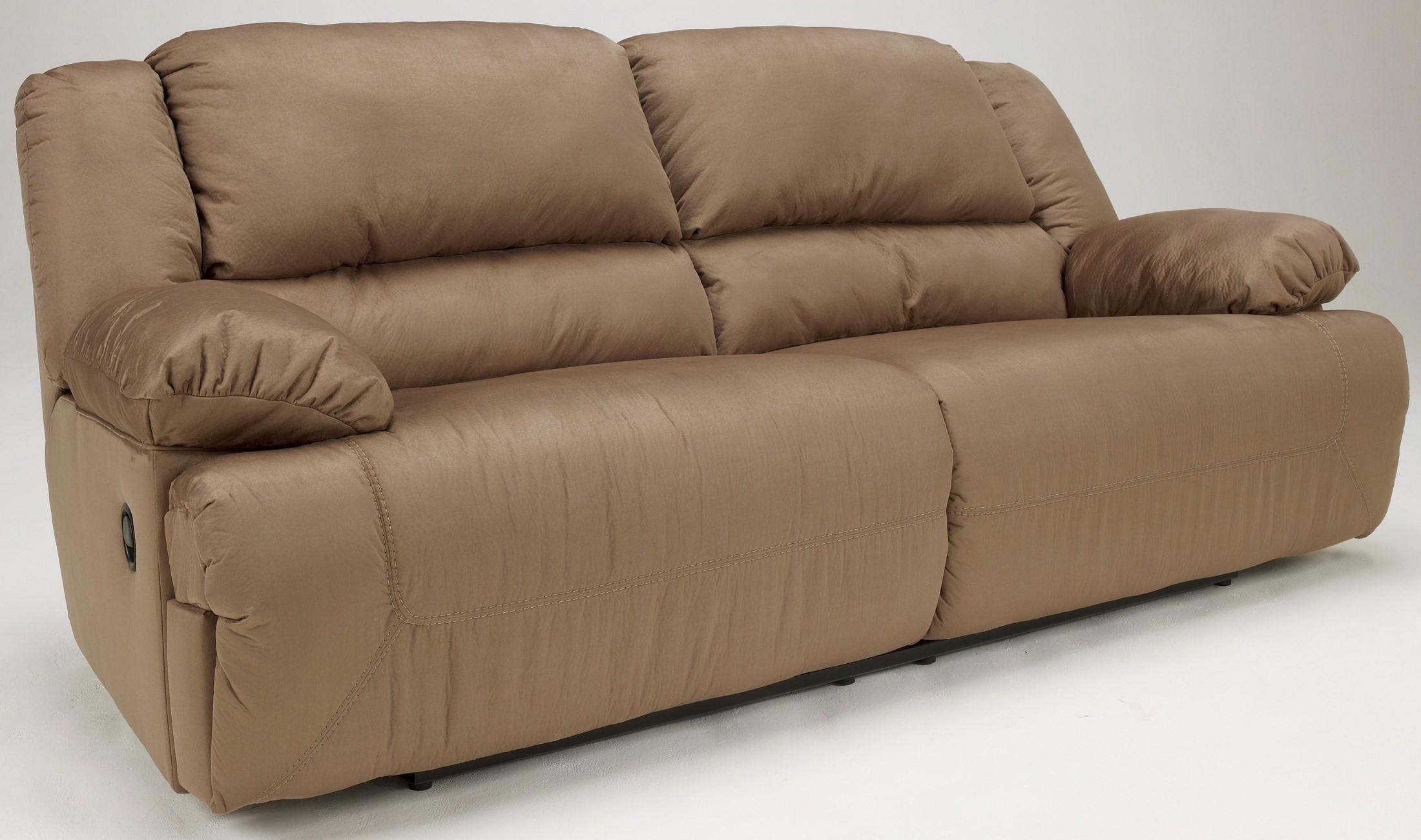 Hogan Mocha 2 Seat Reclining Sofa from Ashley (5780281) Coleman Furniture