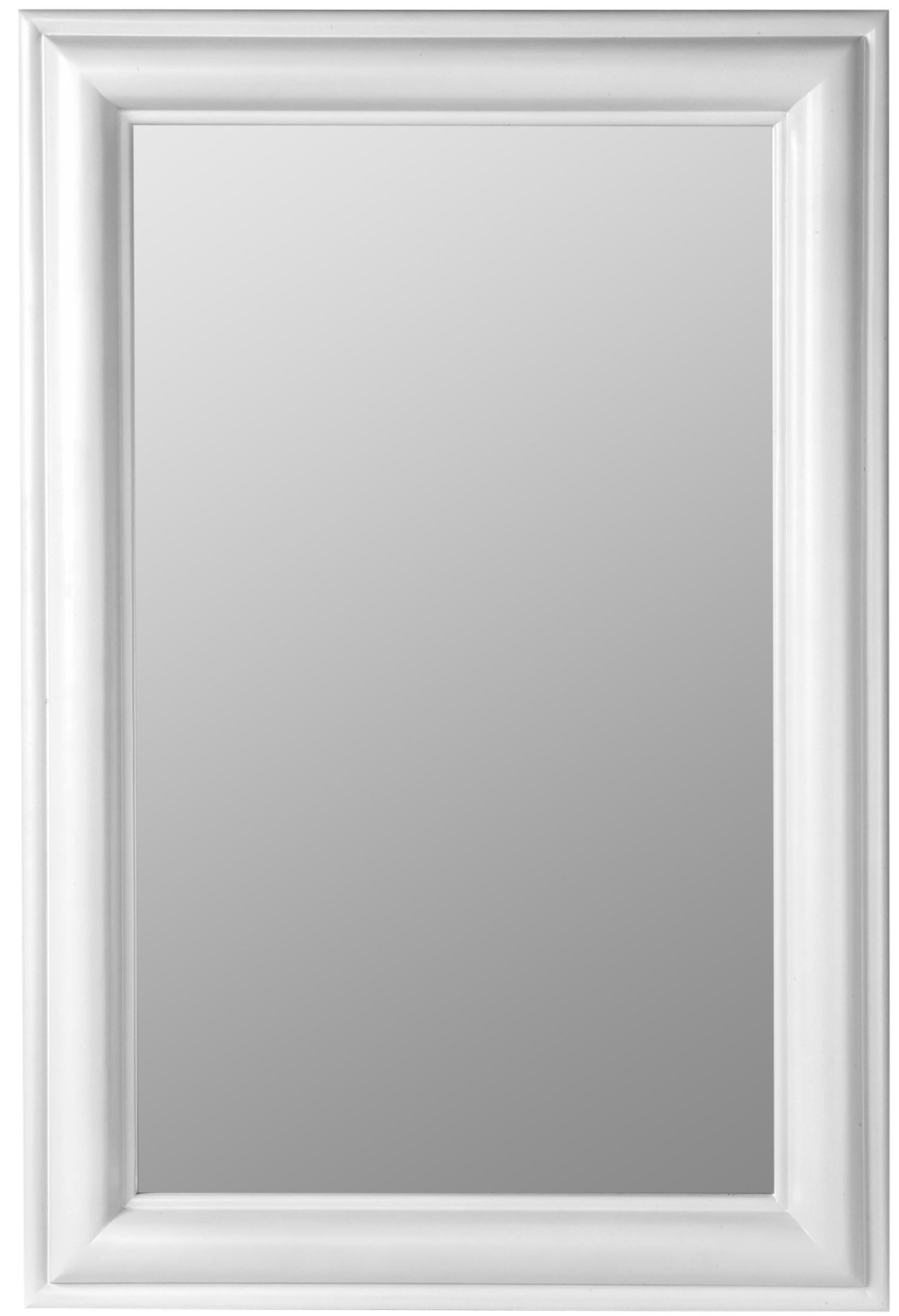 Julia white rectangle mirror from cooper classics 5791 for Rectangle mirror
