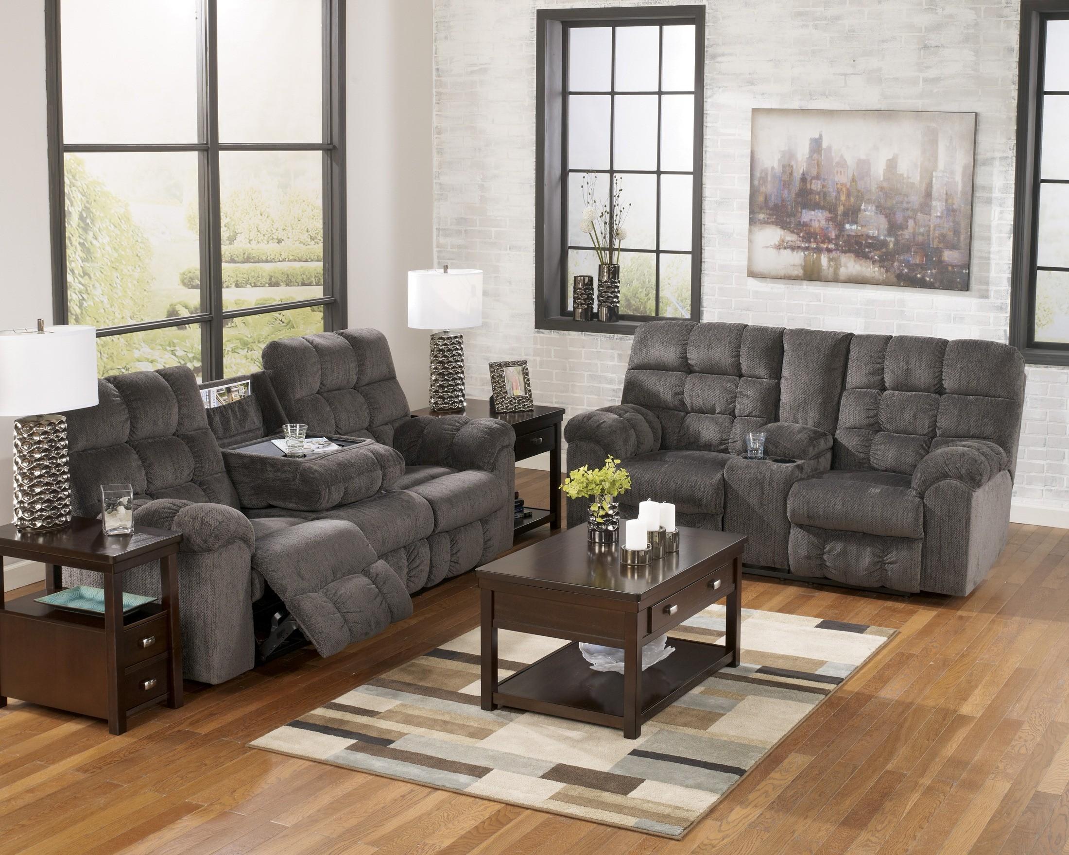 Living Room Set Deals Acieona Slate Living Room Set From Ashley 58300 Coleman Furniture