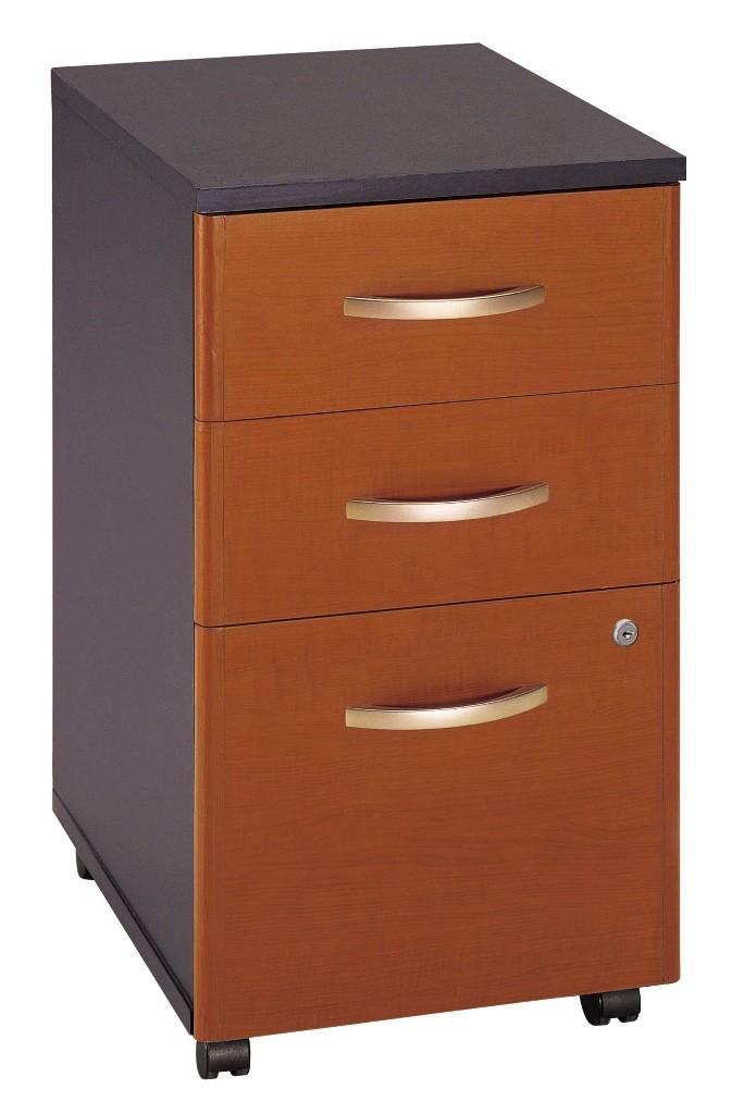 Src003au Series C Auburn Maple Office Set From Bush