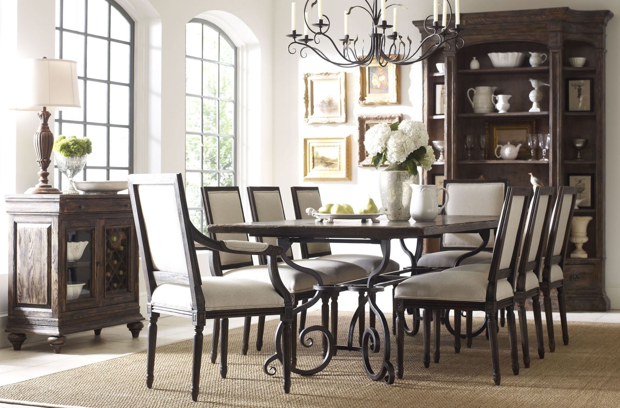 artisans shoppe 94 black forest rectangular dining room