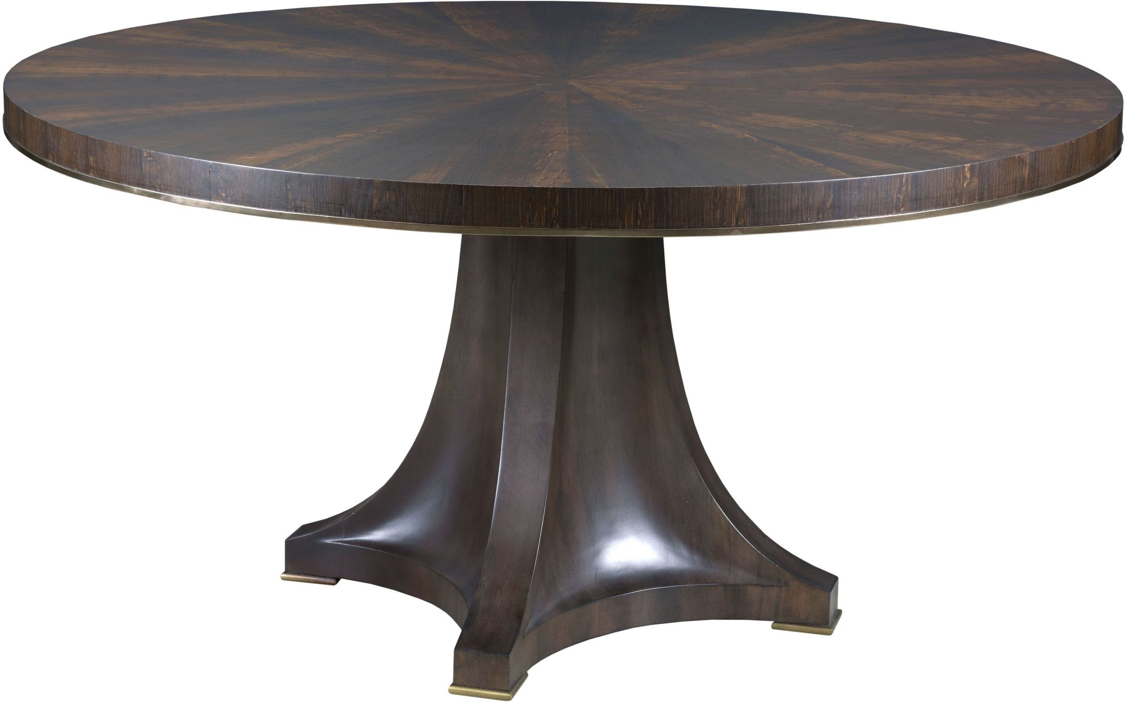 ad modern organics smokey quartz camby round dining table. Black Bedroom Furniture Sets. Home Design Ideas