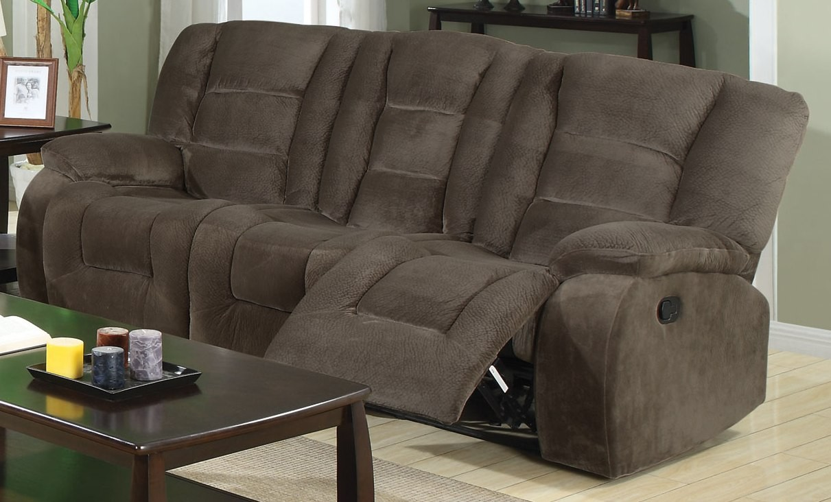 Charlie Brown Sage Reclining Sofa from Coaster