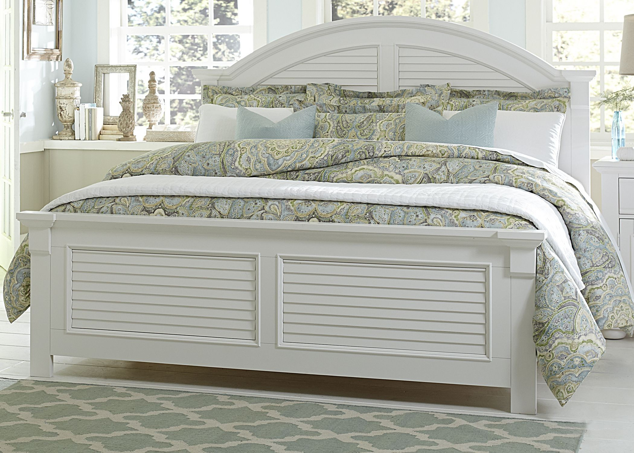 Summer House I Panel Storage Bedroom Set 607 Br Qsb Room Liberty