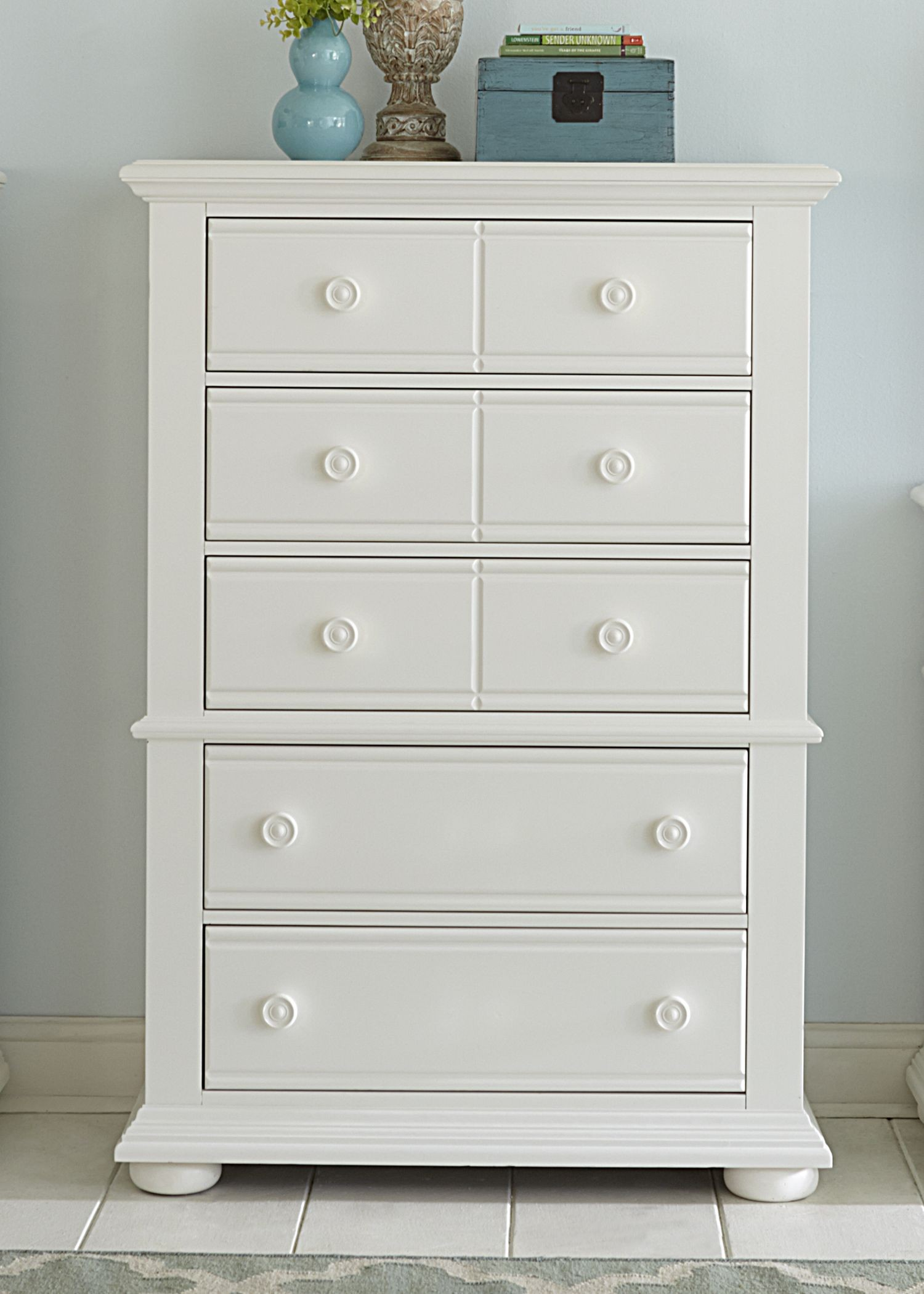 Summer House Oyster White Panel Storage Bedroom Set From Liberty 607 Br Qsb Coleman Furniture