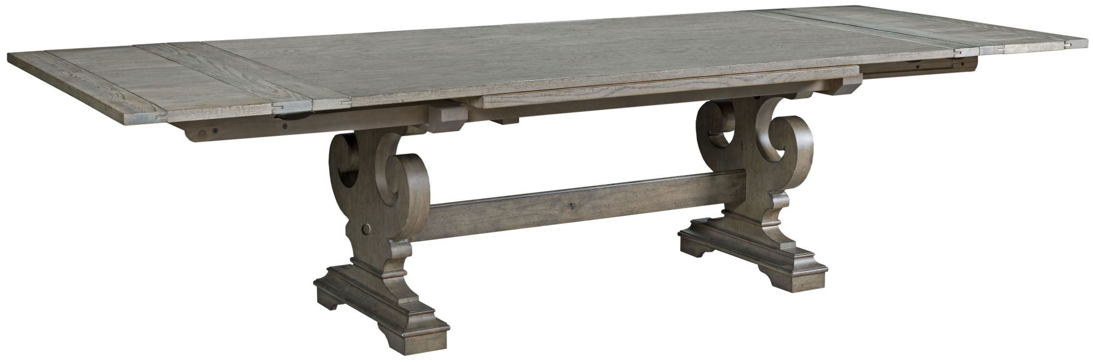 Greyson crawford refractory dining table 608 744p kincaid for Greyson dining table