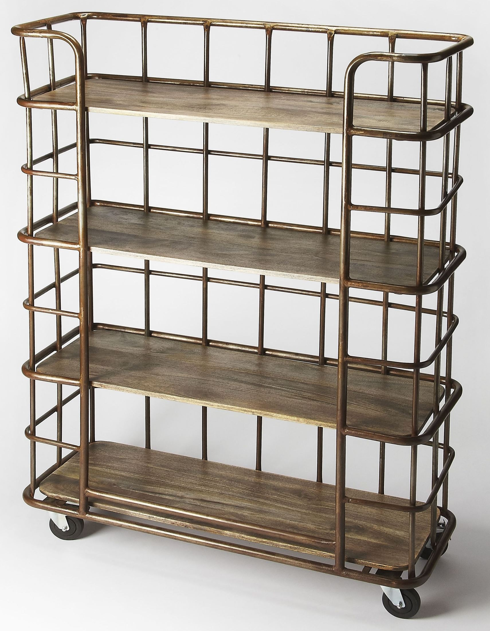 Antioch industrial chic etagere 6091330 butler for Etagere campagne chic