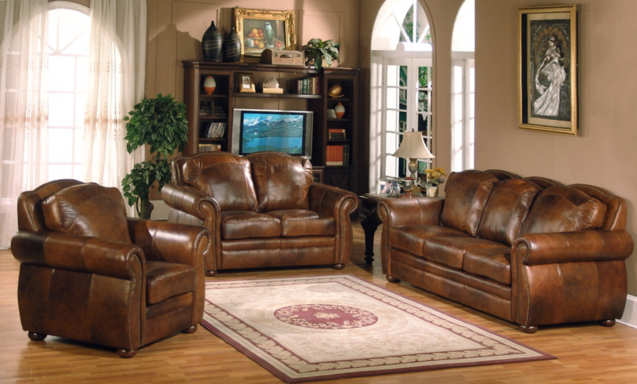 arizona marco living room set from leather italia 1444 6110 0304234 coleman furniture. Black Bedroom Furniture Sets. Home Design Ideas